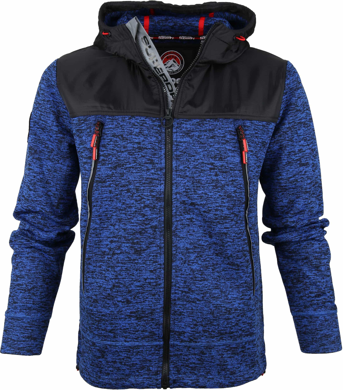 Superdry Mountain Tech Vest Blauw foto 0
