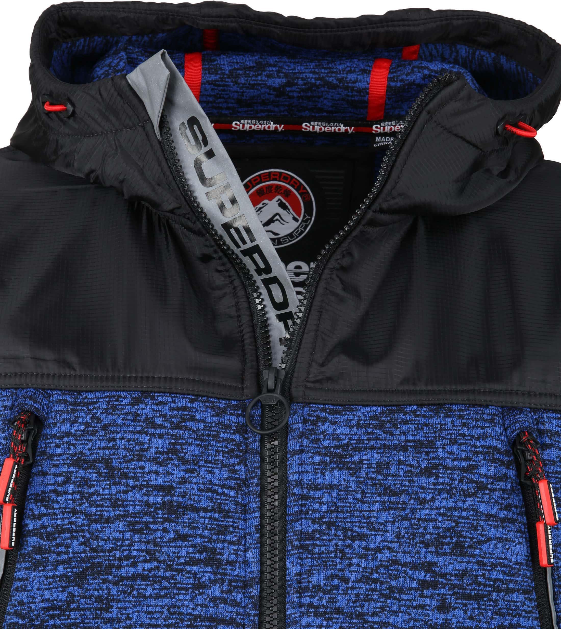 Superdry Mountain Tech Vest Blauw foto 1