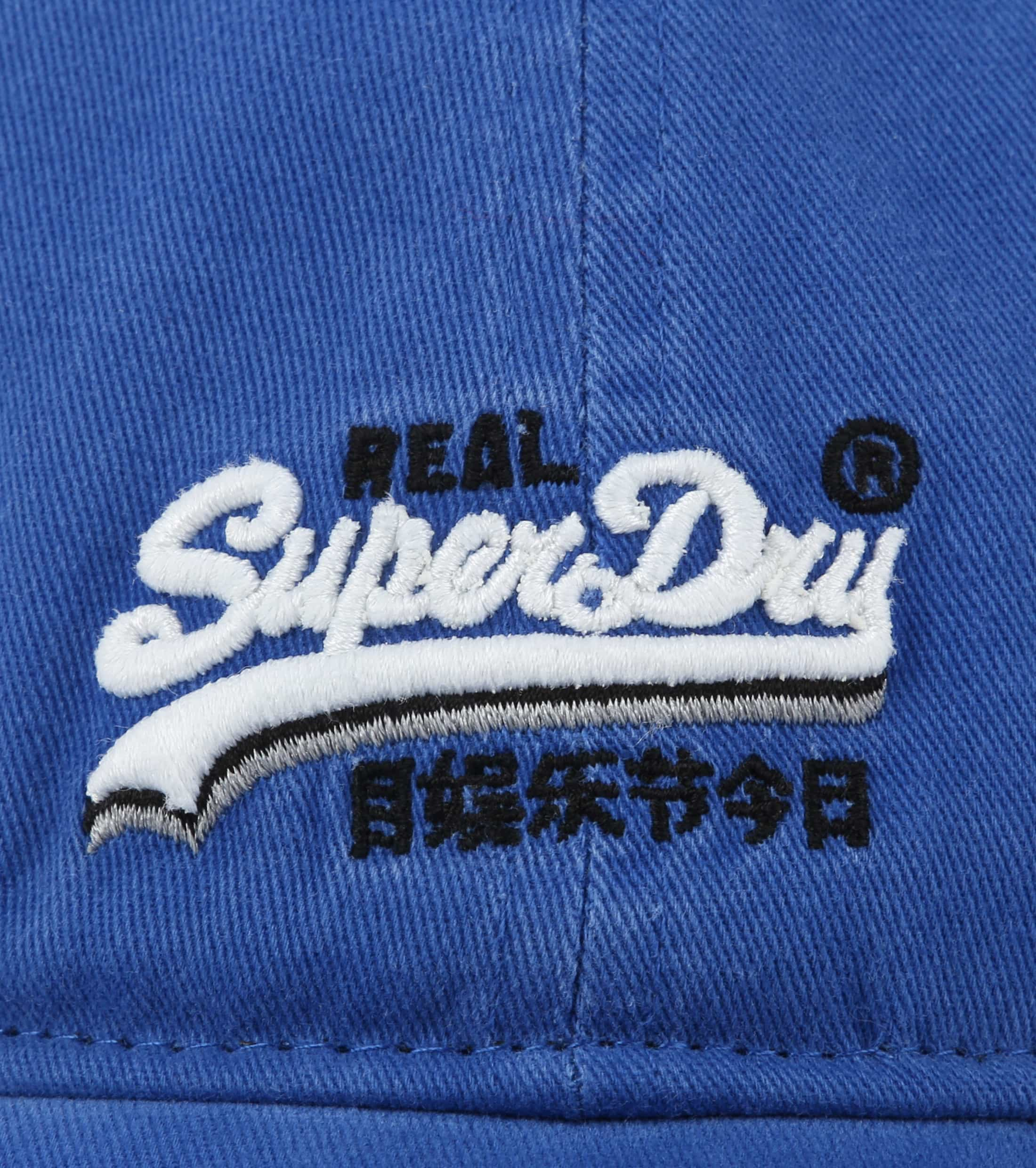 Superdry Orange Label Twill Kappe Blau foto 1