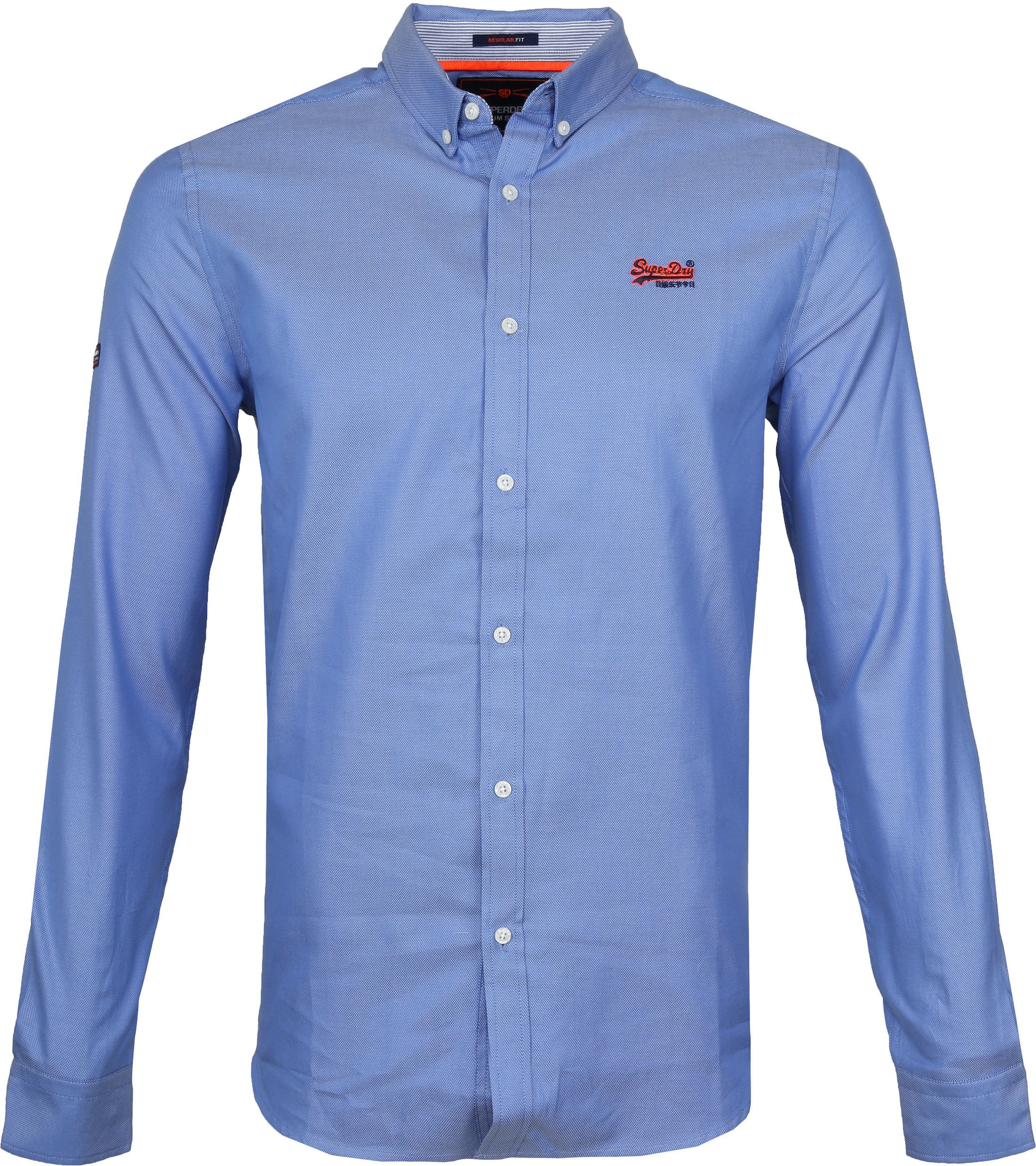 Superdry Overhemd Blauw foto 0