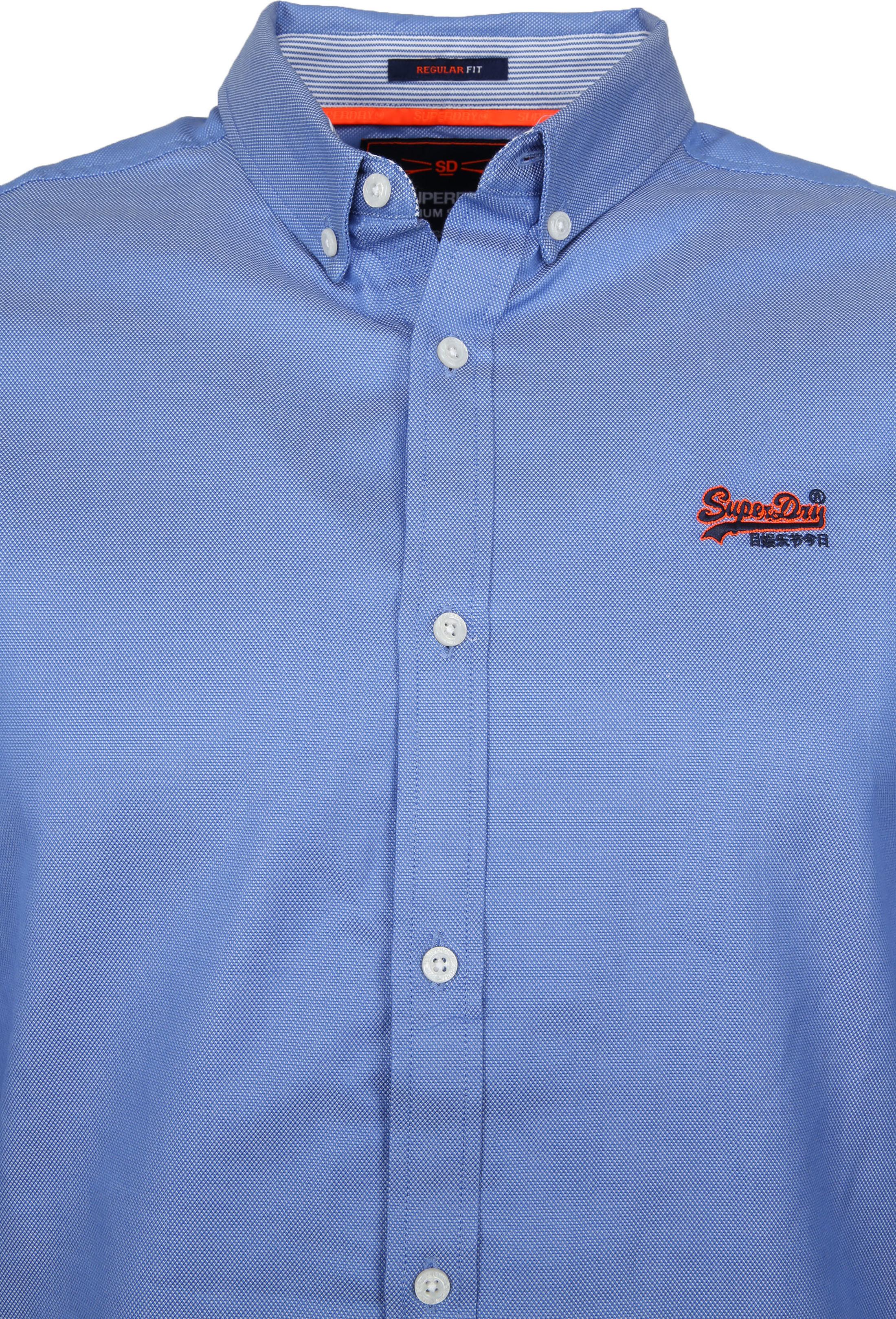 Superdry Overhemd Blauw foto 2