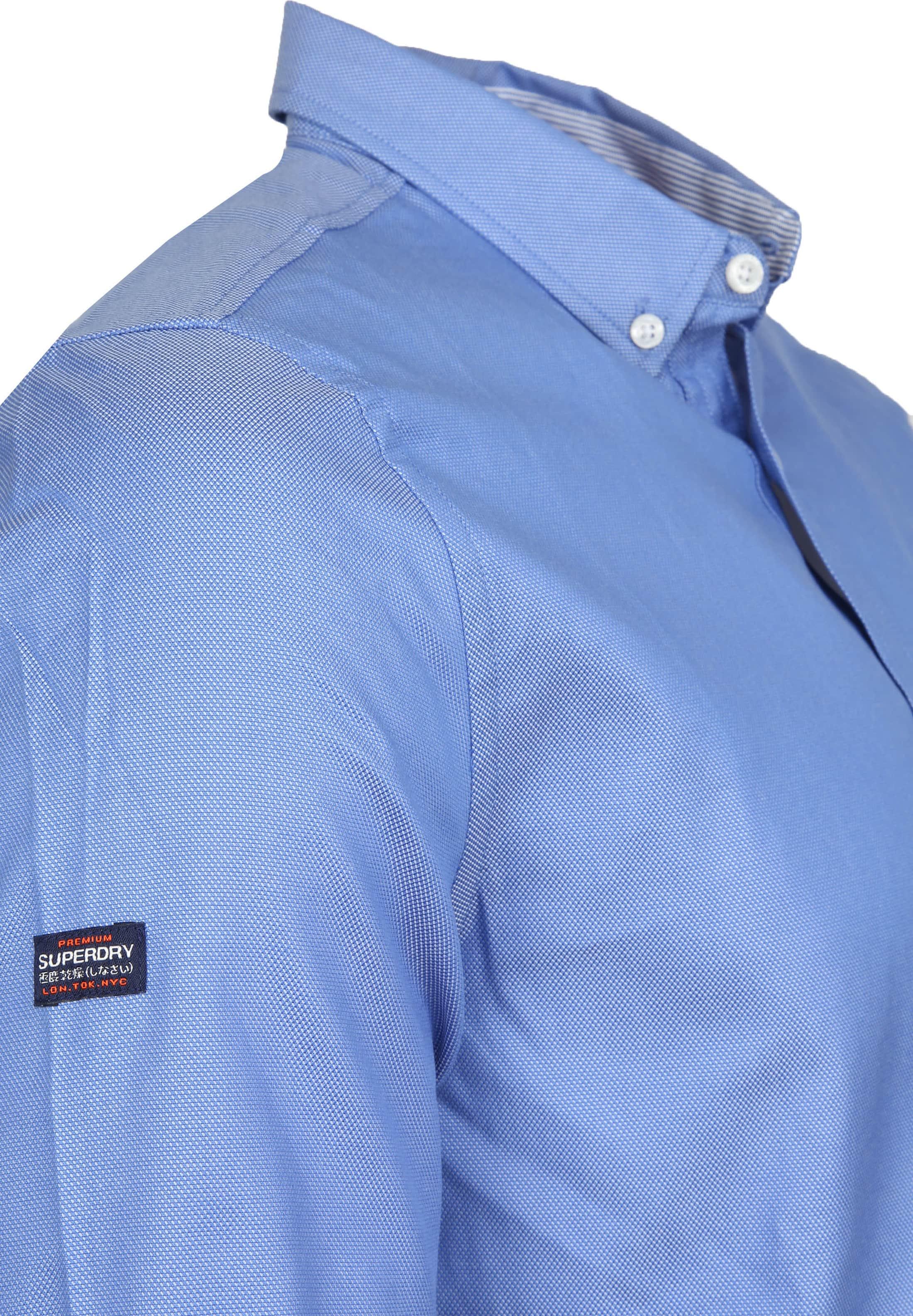 Superdry Overhemd Blauw foto 3