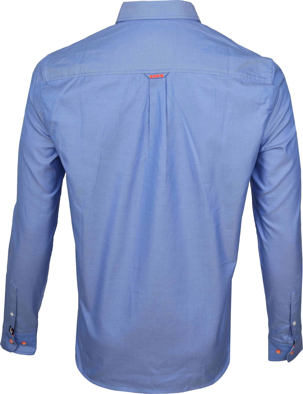 Superdry Overhemd Blauw foto 4