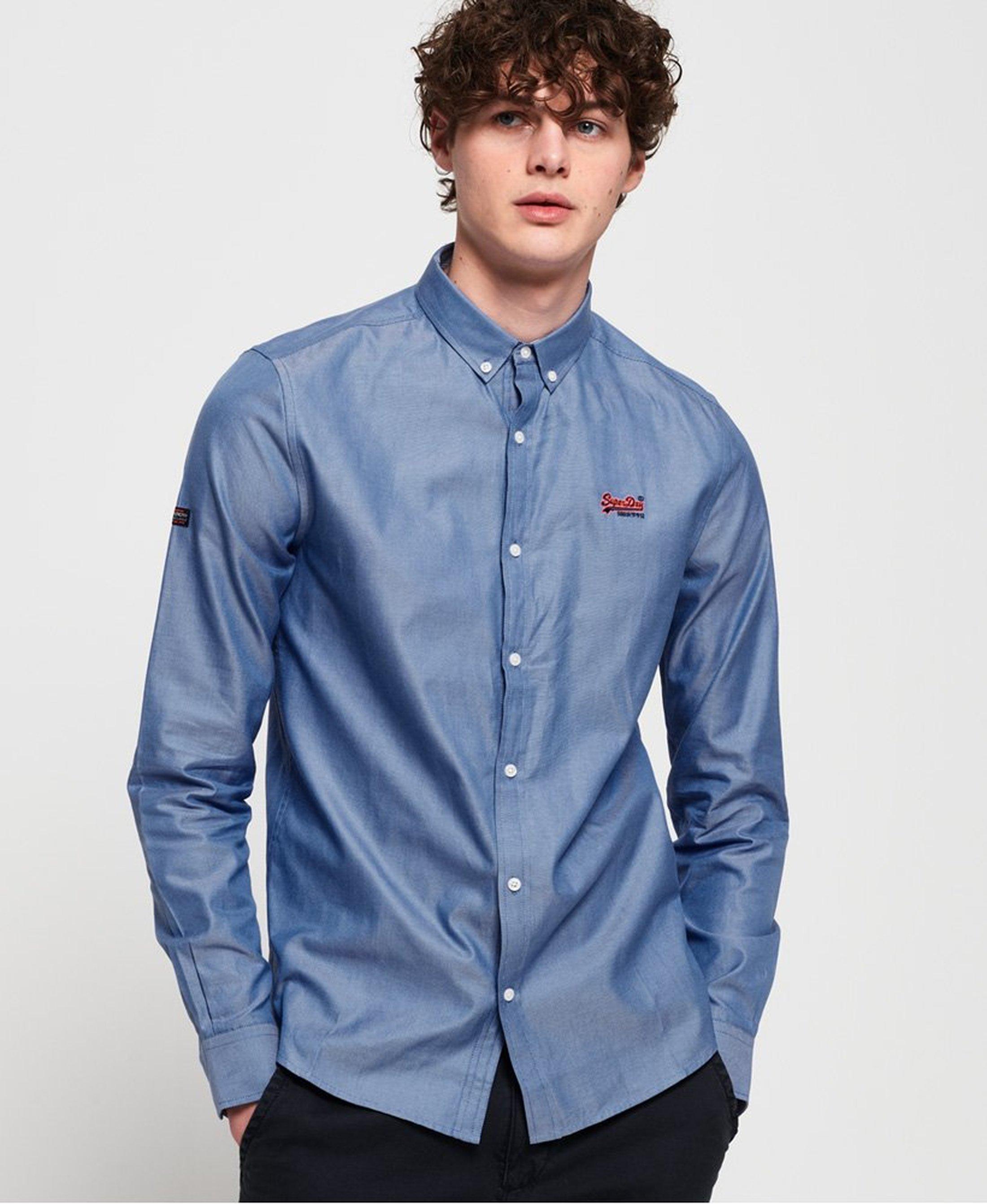 Superdry Overhemd Blauw foto 5