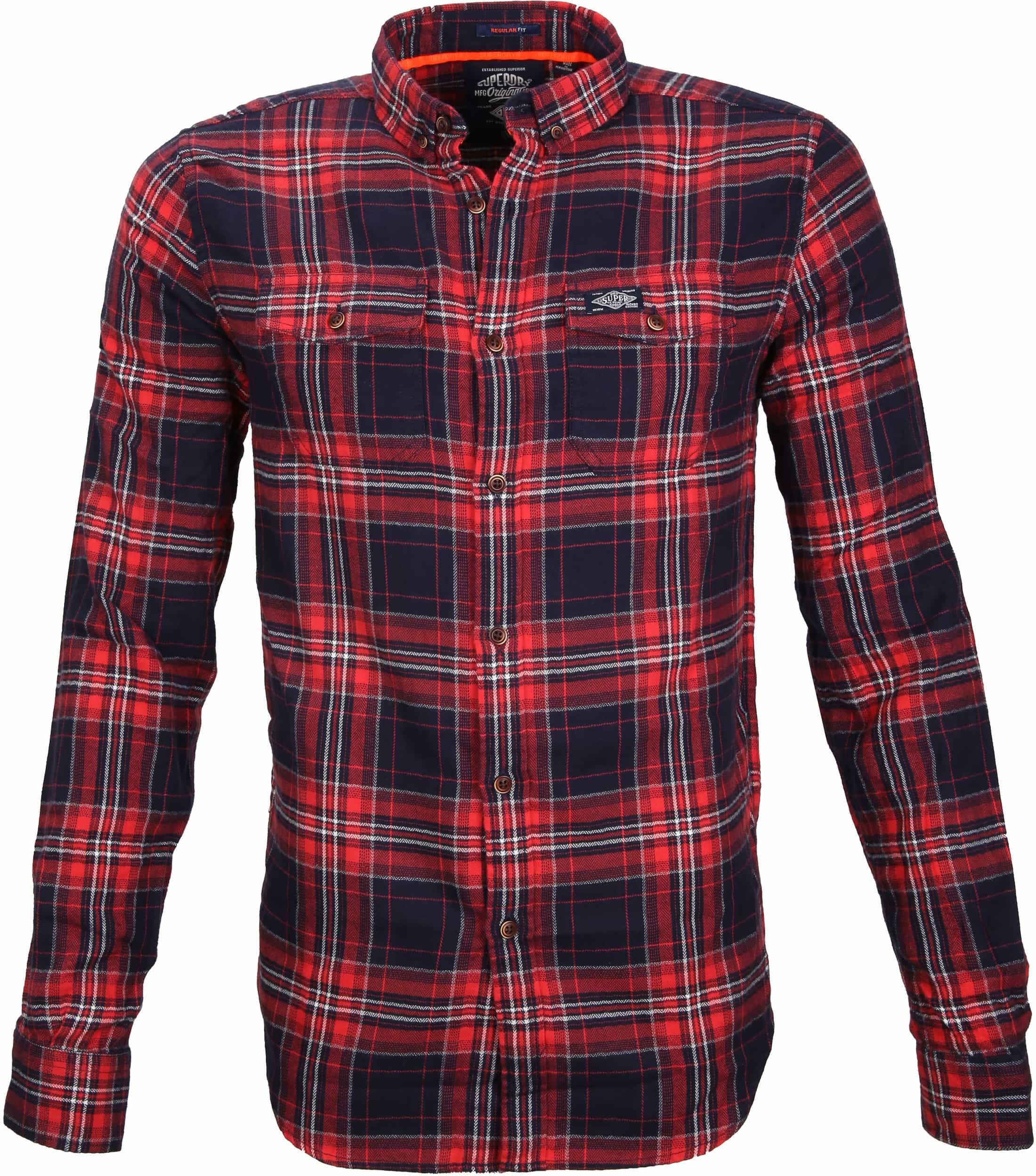 Superdry Overhemd Washbasket foto 0