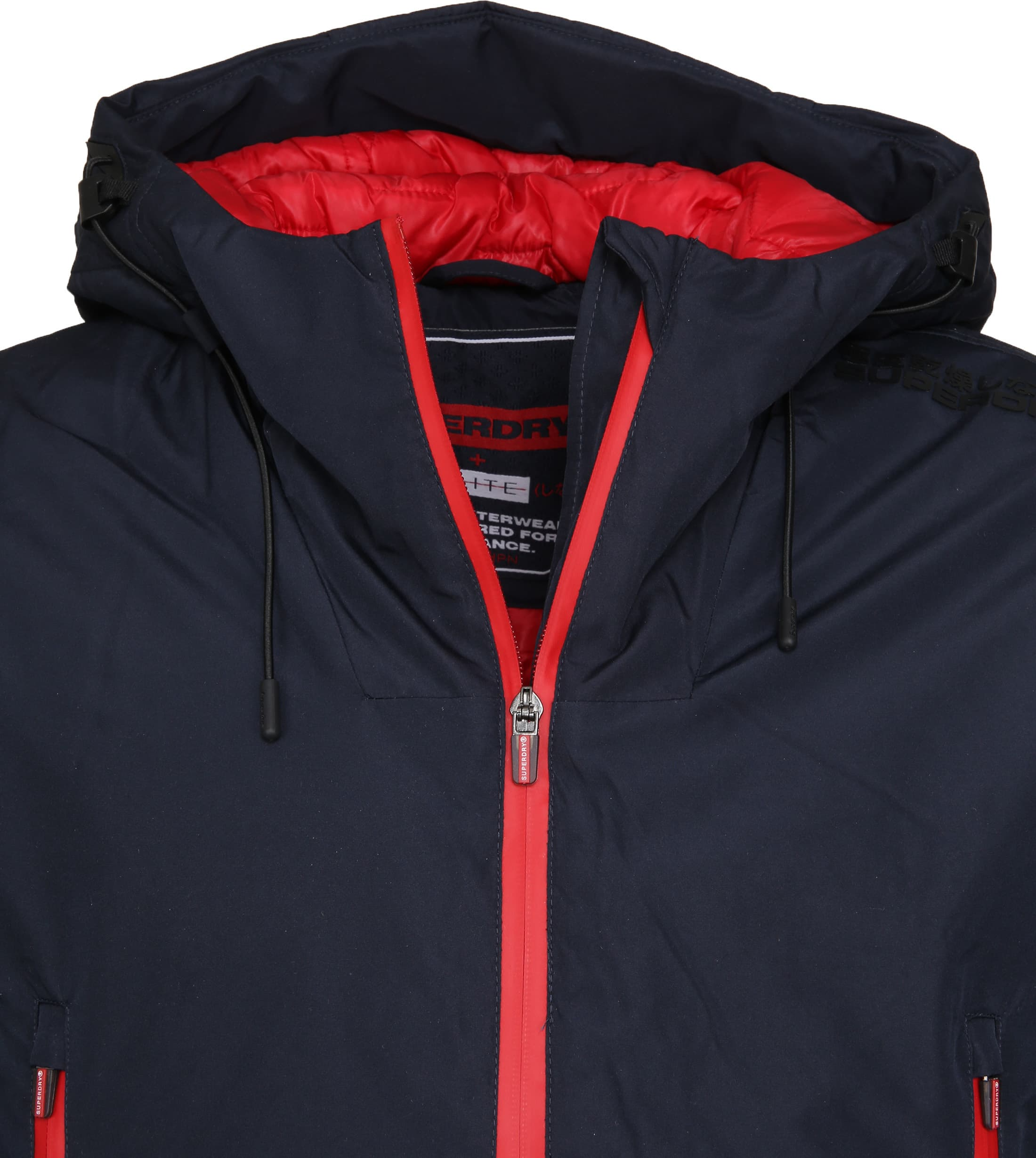 Superdry Padded Elite Jack Navy foto 1