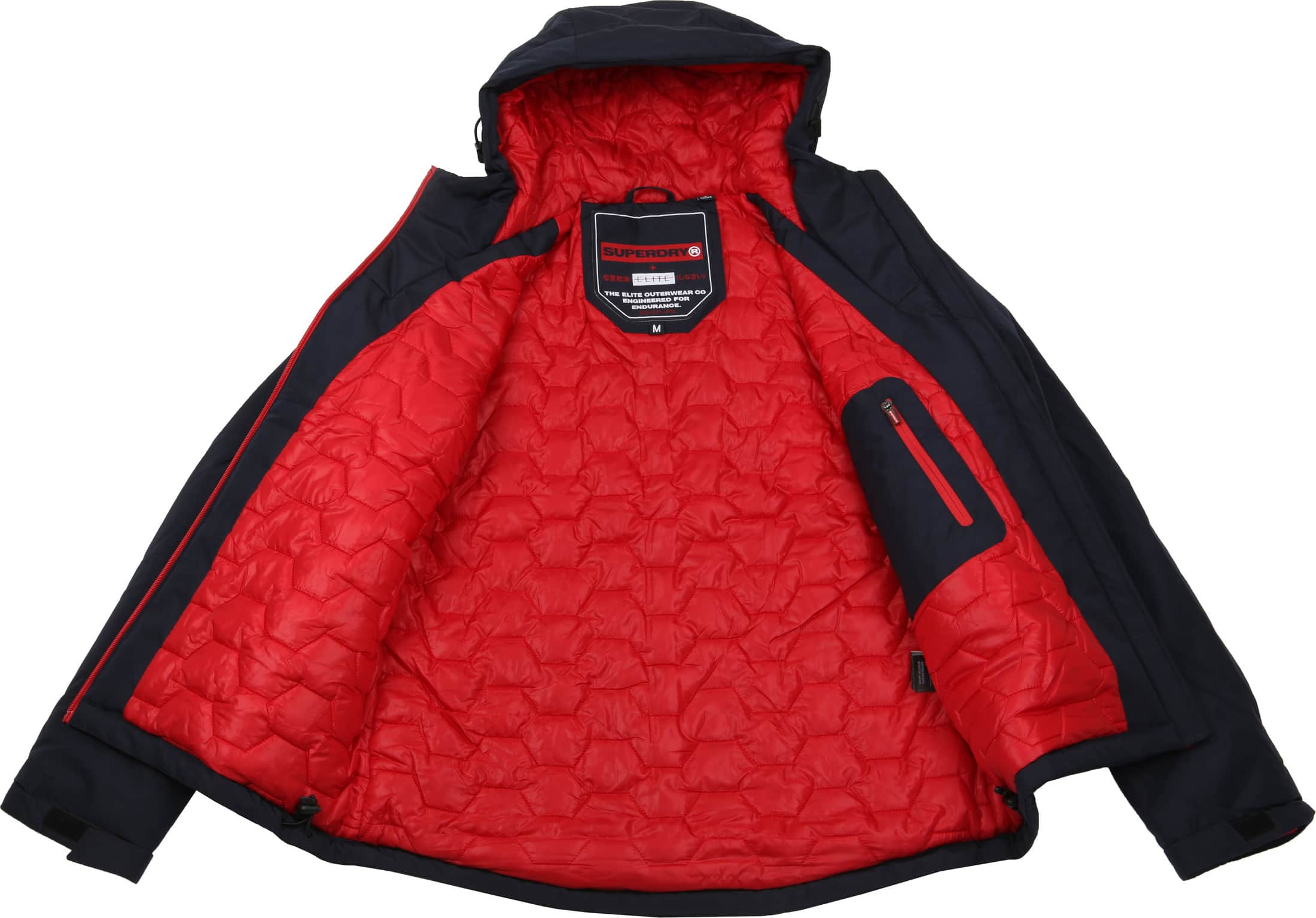 Superdry Padded Elite Jack Navy foto 8
