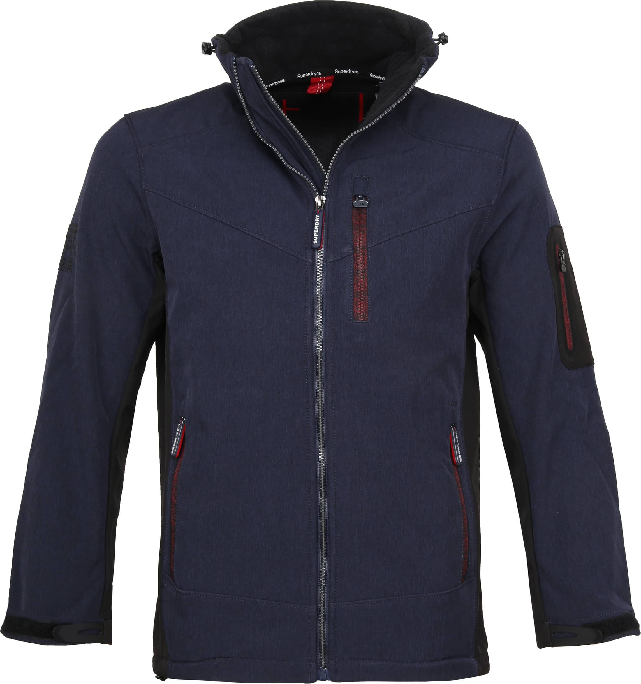 Superdry Paralex Windjack Navy foto 0