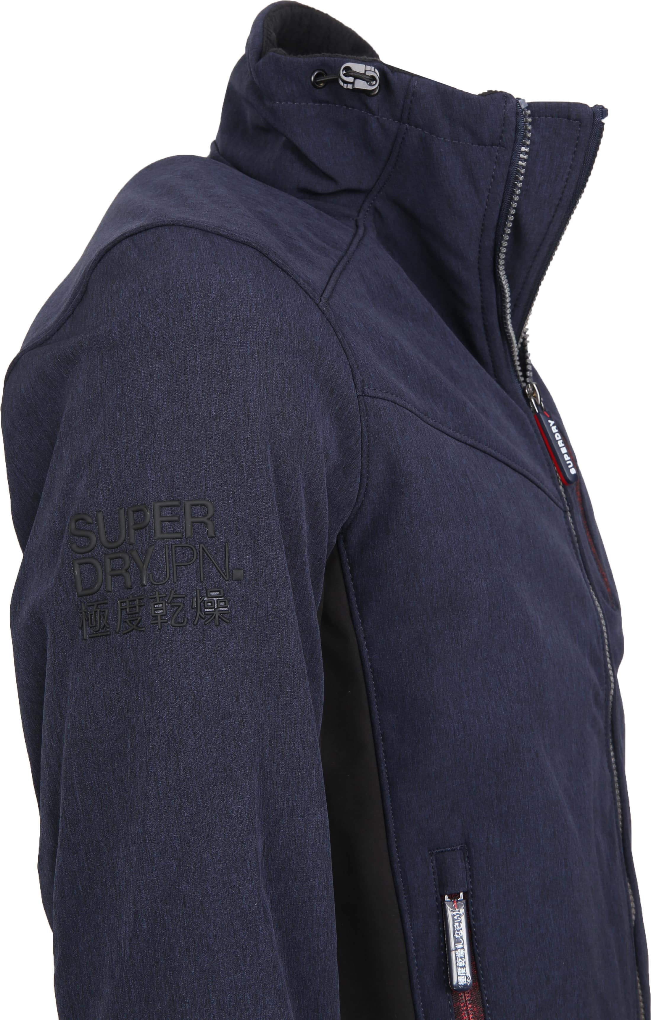 Superdry Paralex Windjack Navy foto 3