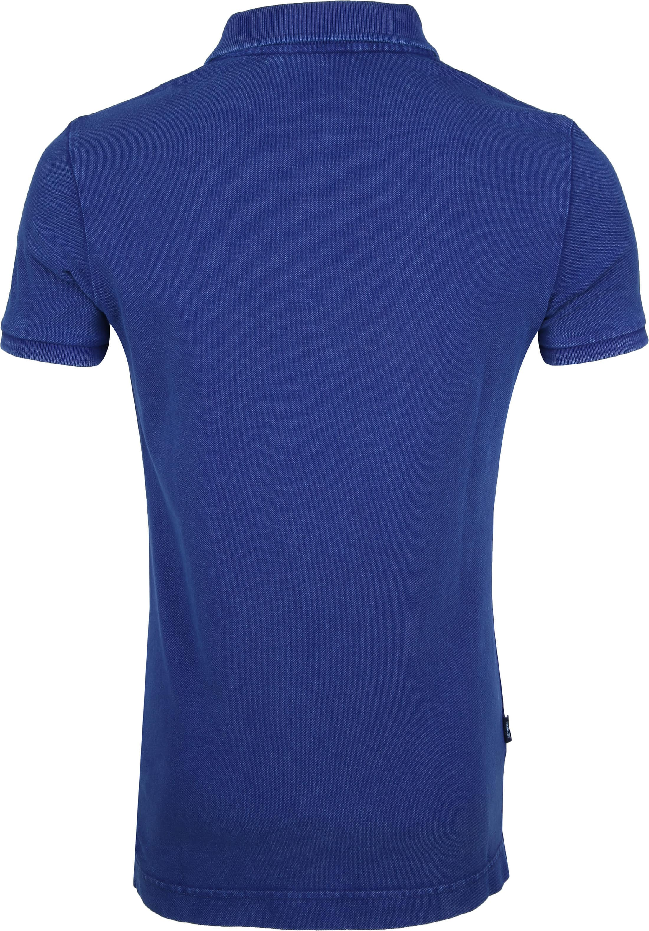 Superdry Polo Blauw