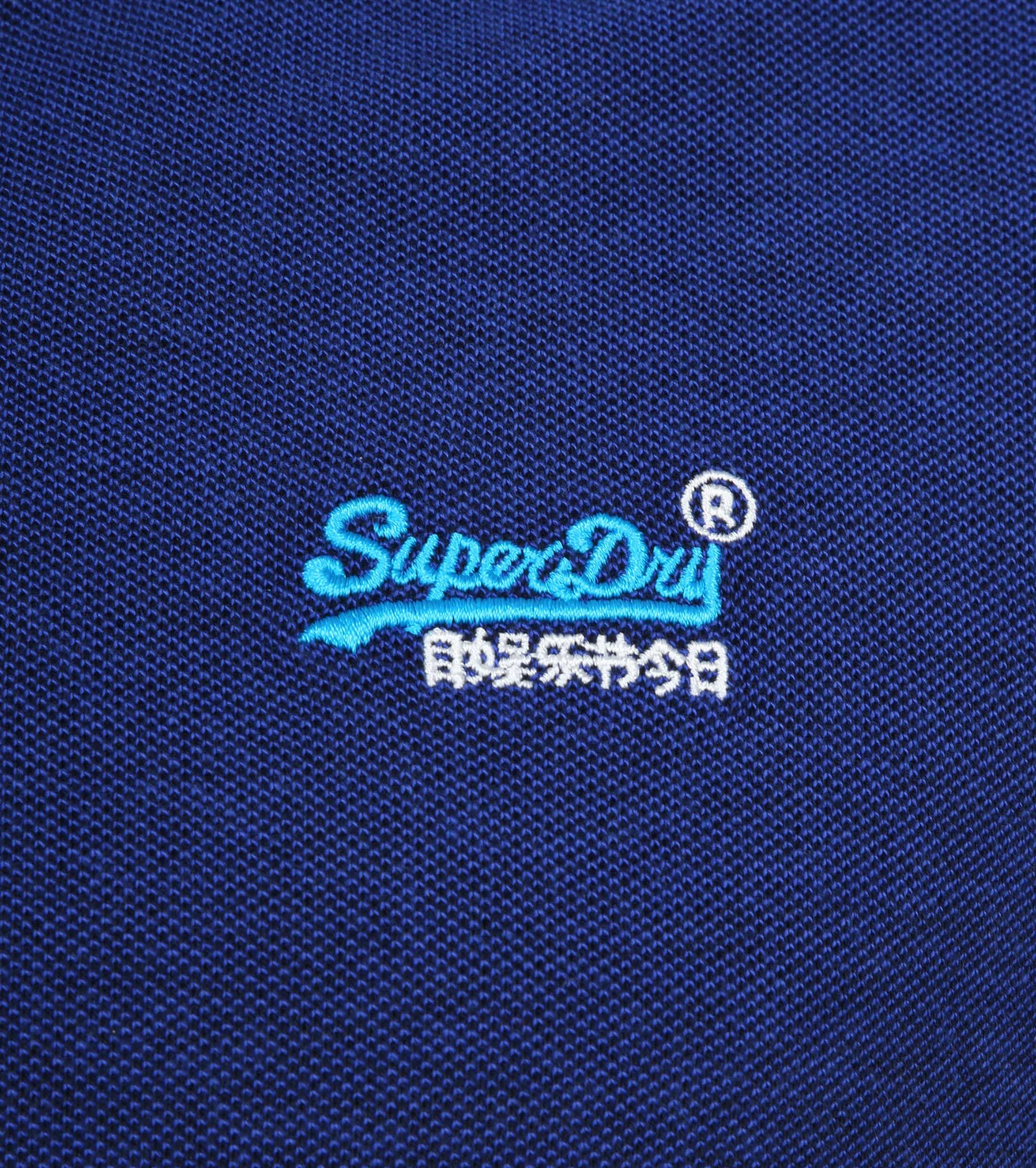 Superdry Polo Poolside Donkerblauw