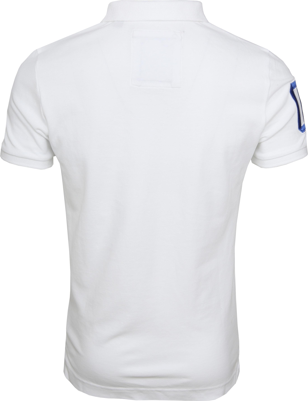 Superdry Poloshirt Classic Pique White foto 4