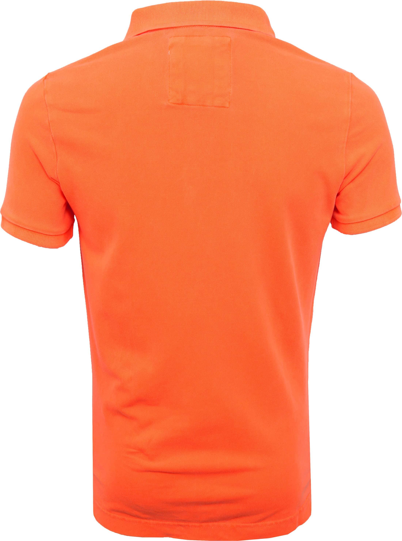 Superdry Poloshirt Fluro Orange foto 3