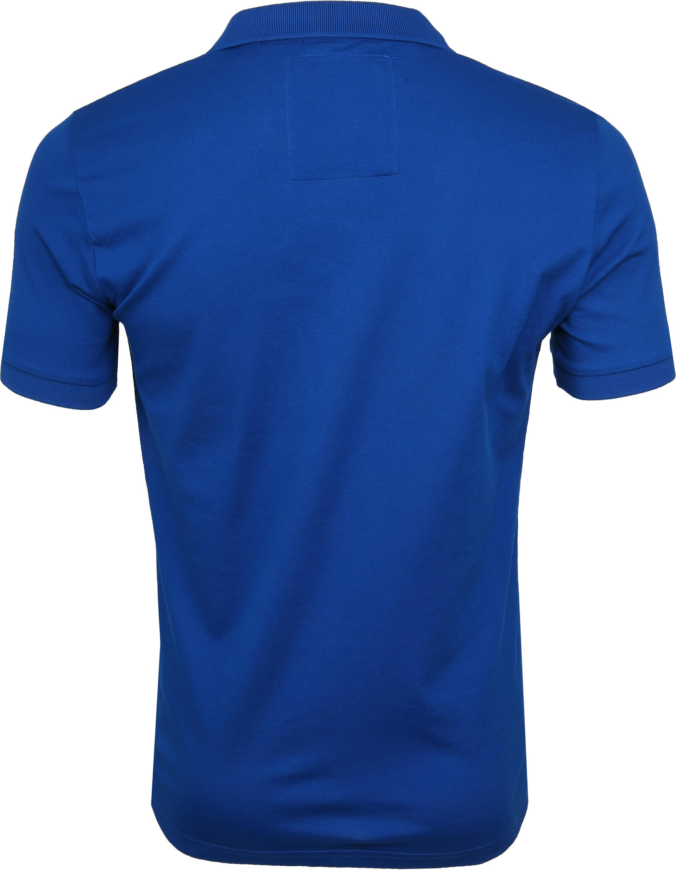 Superdry Poloshirt Mercerised Cobalt Blue foto 4