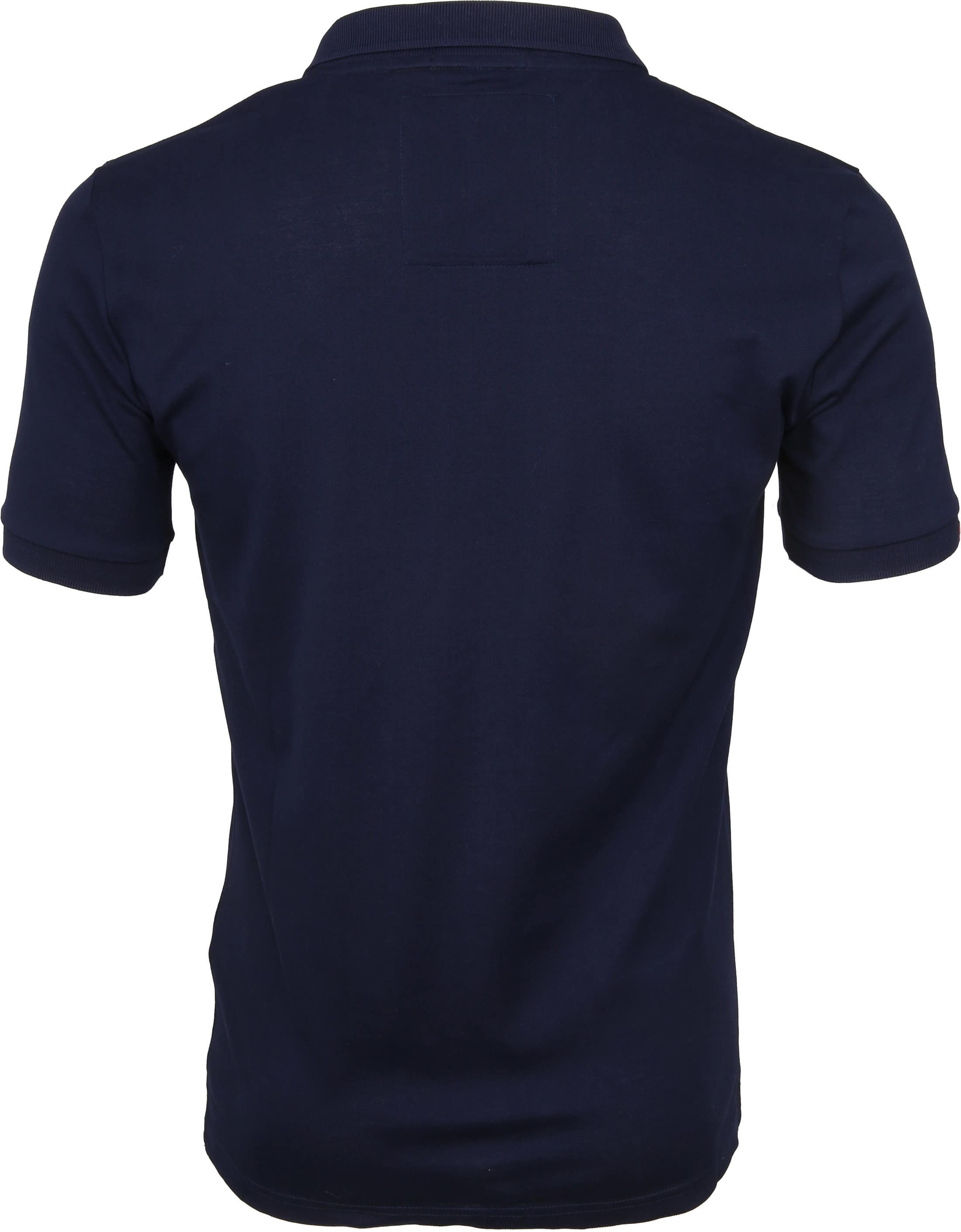 Superdry Poloshirt Mercerised Lite City Navy foto 3