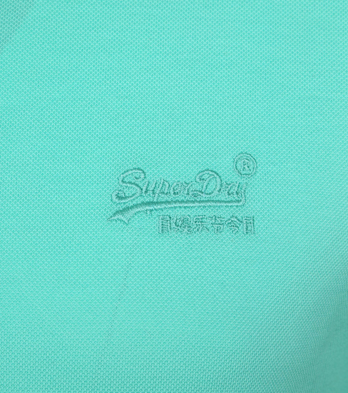 Superdry Poloshirt Premium Turquoise foto 2