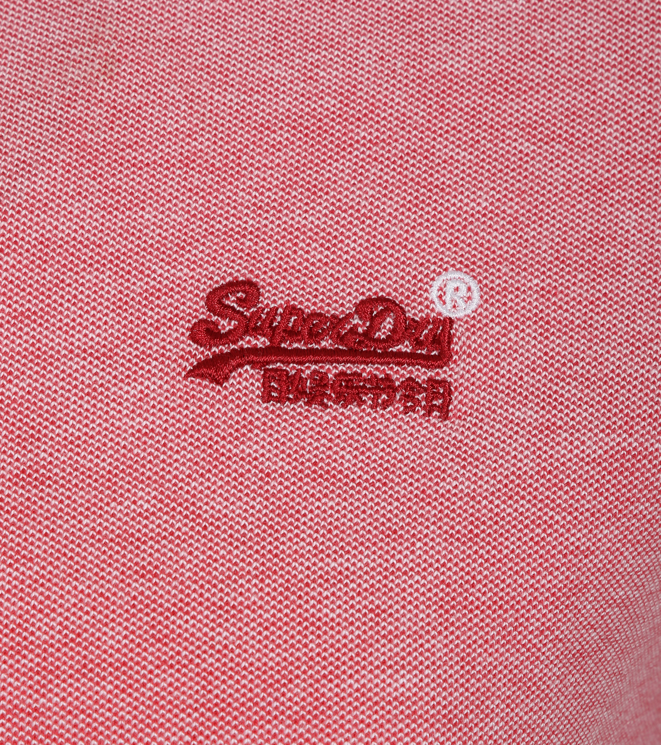 Superdry Poolside Polo Rood foto 1