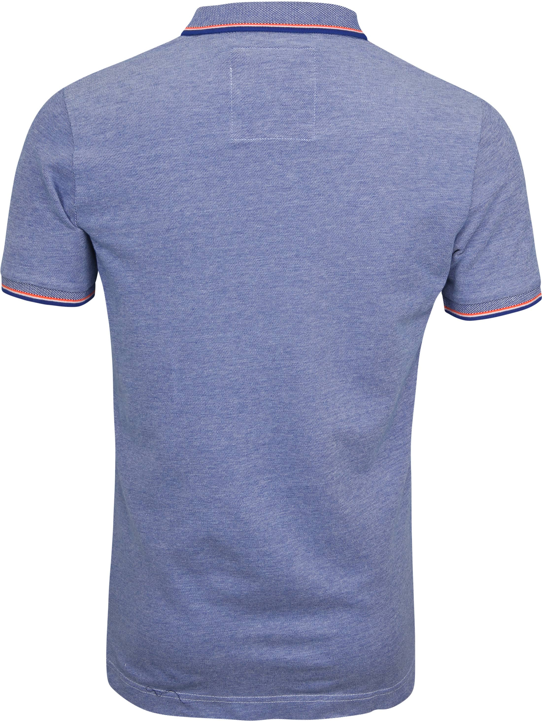 Superdry Premium Polo Blue foto 4