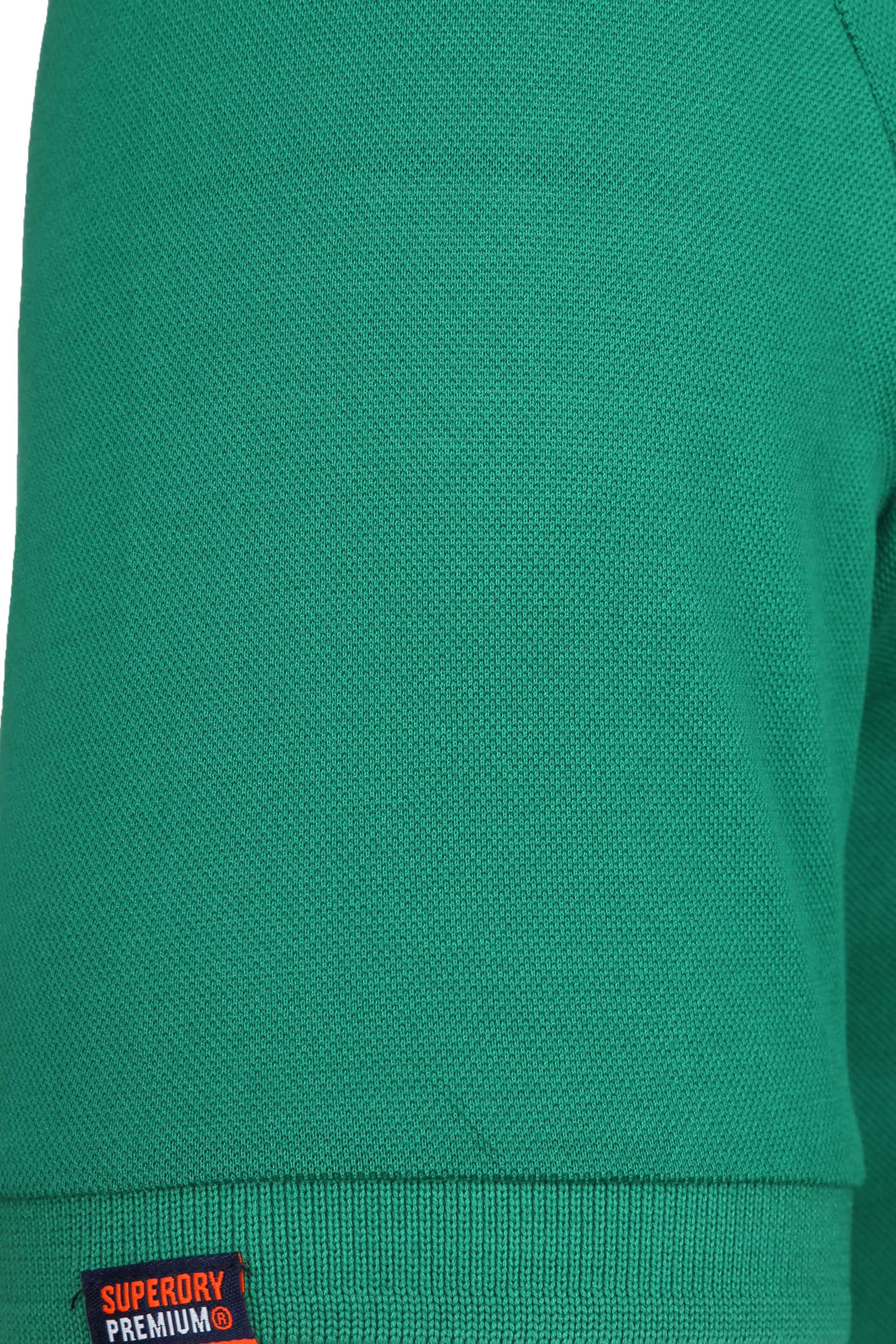 Superdry Premium Polo Green foto 3