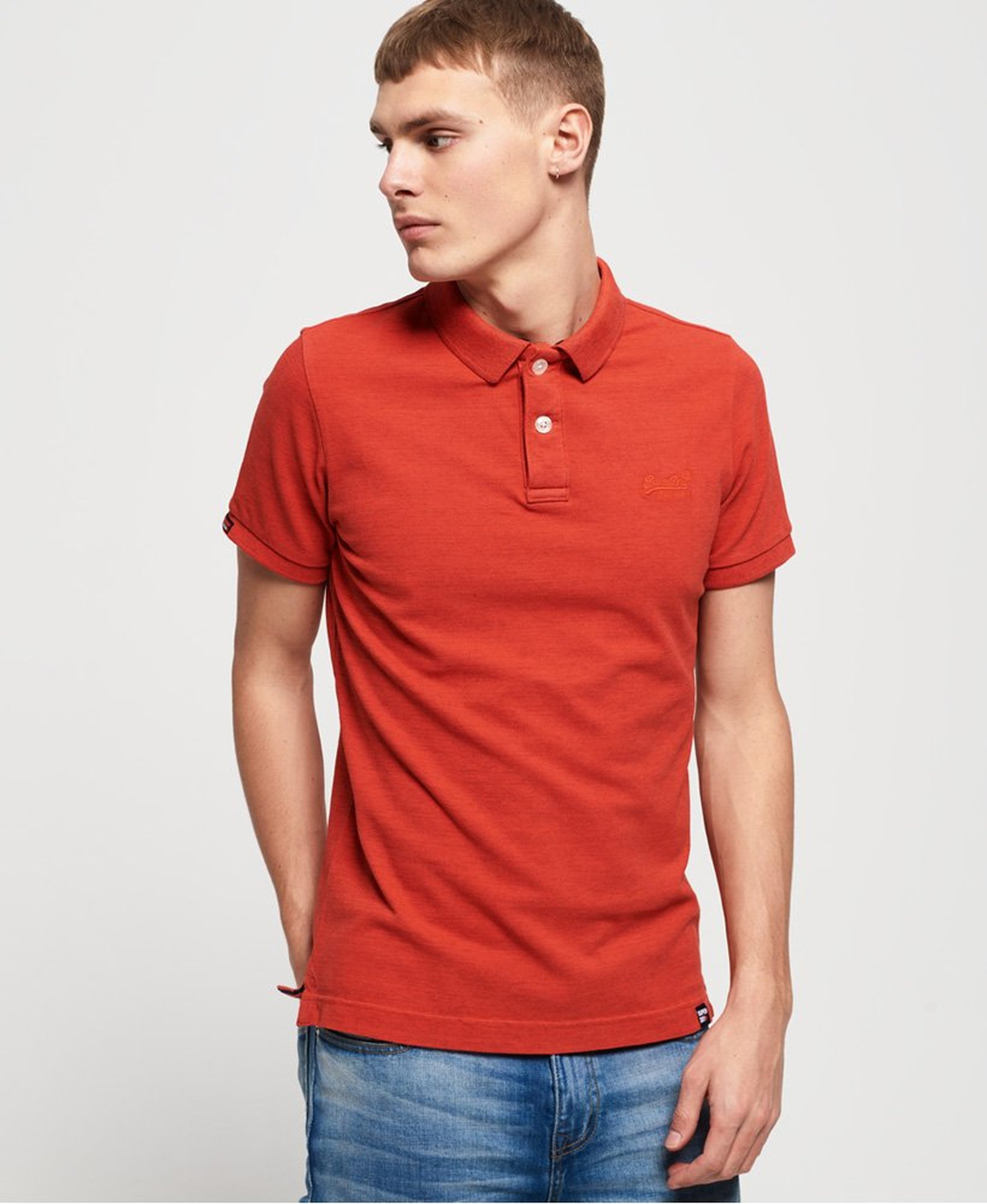 Superdry Premium Polo Orange foto 5