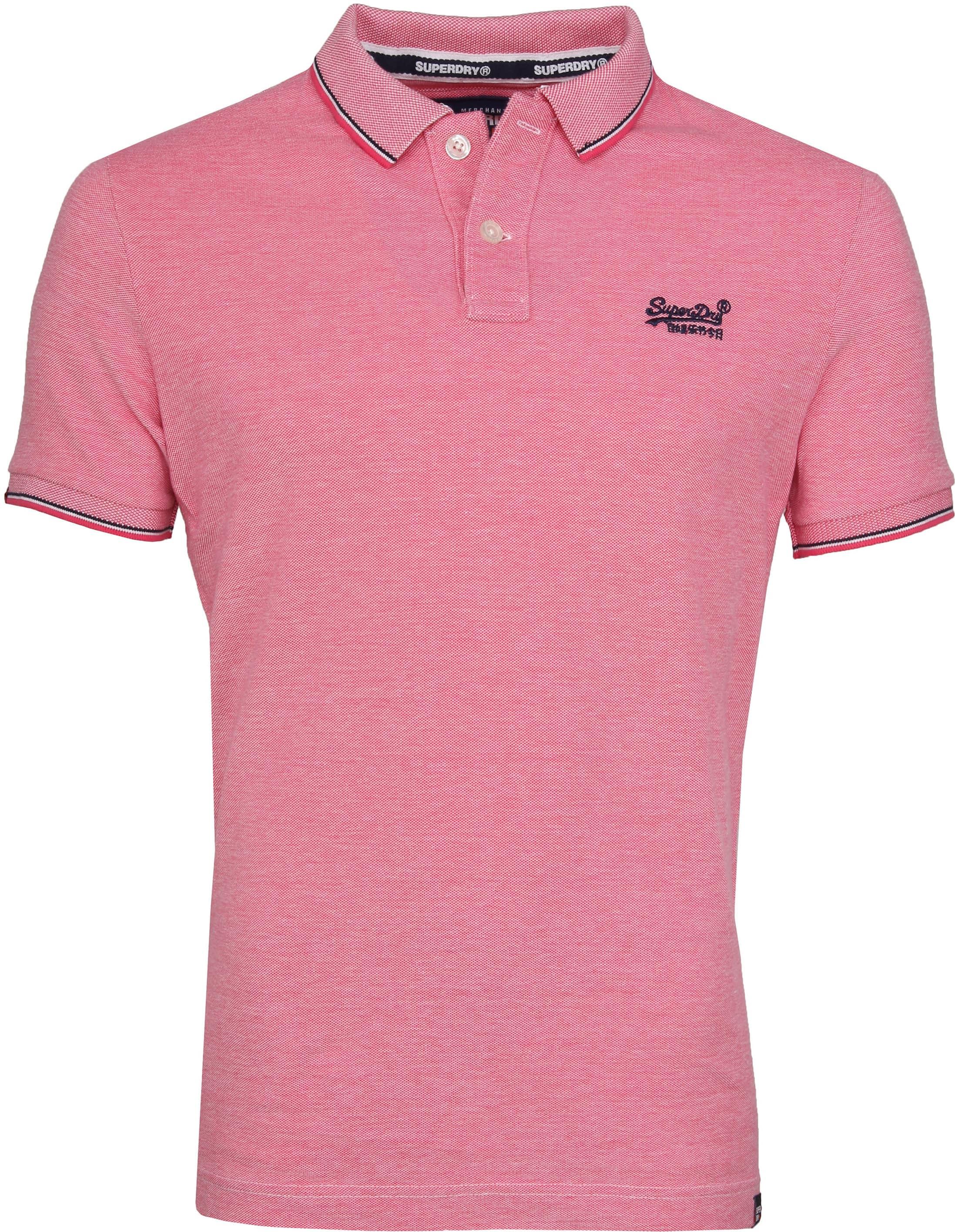 Superdry Premium Polo Pink foto 0