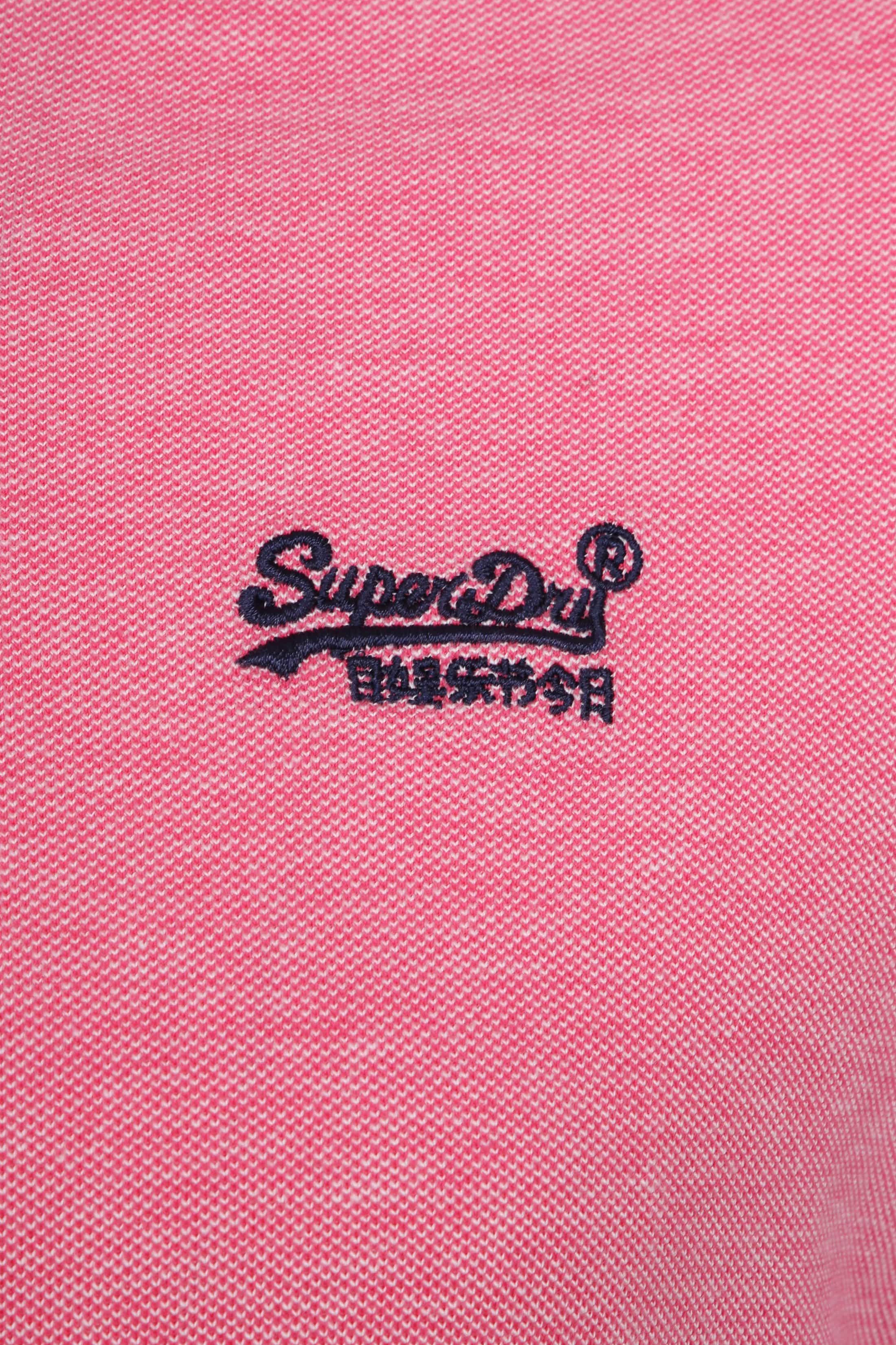 Superdry Premium Polo Pink foto 1