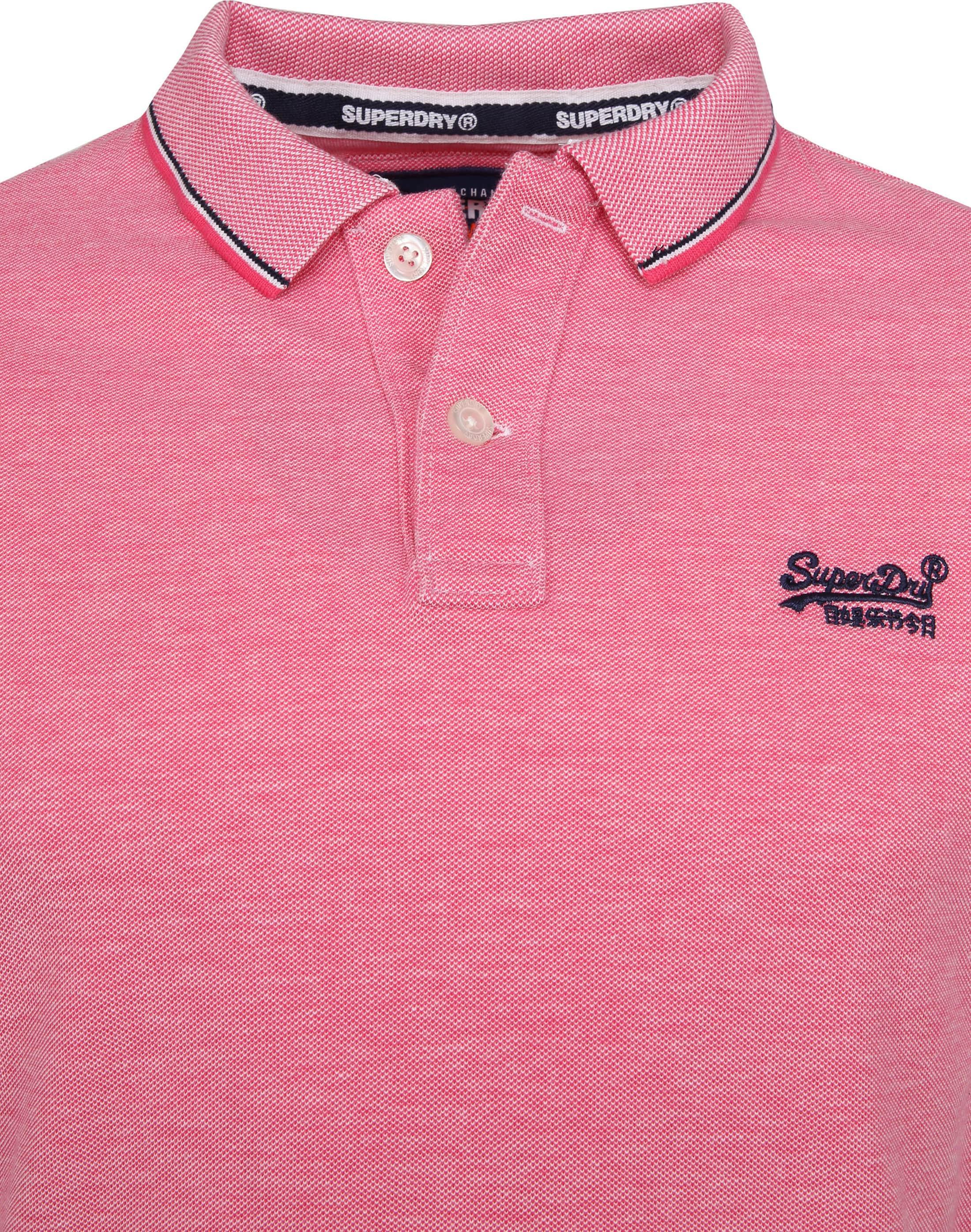 Superdry Premium Polo Pink foto 2