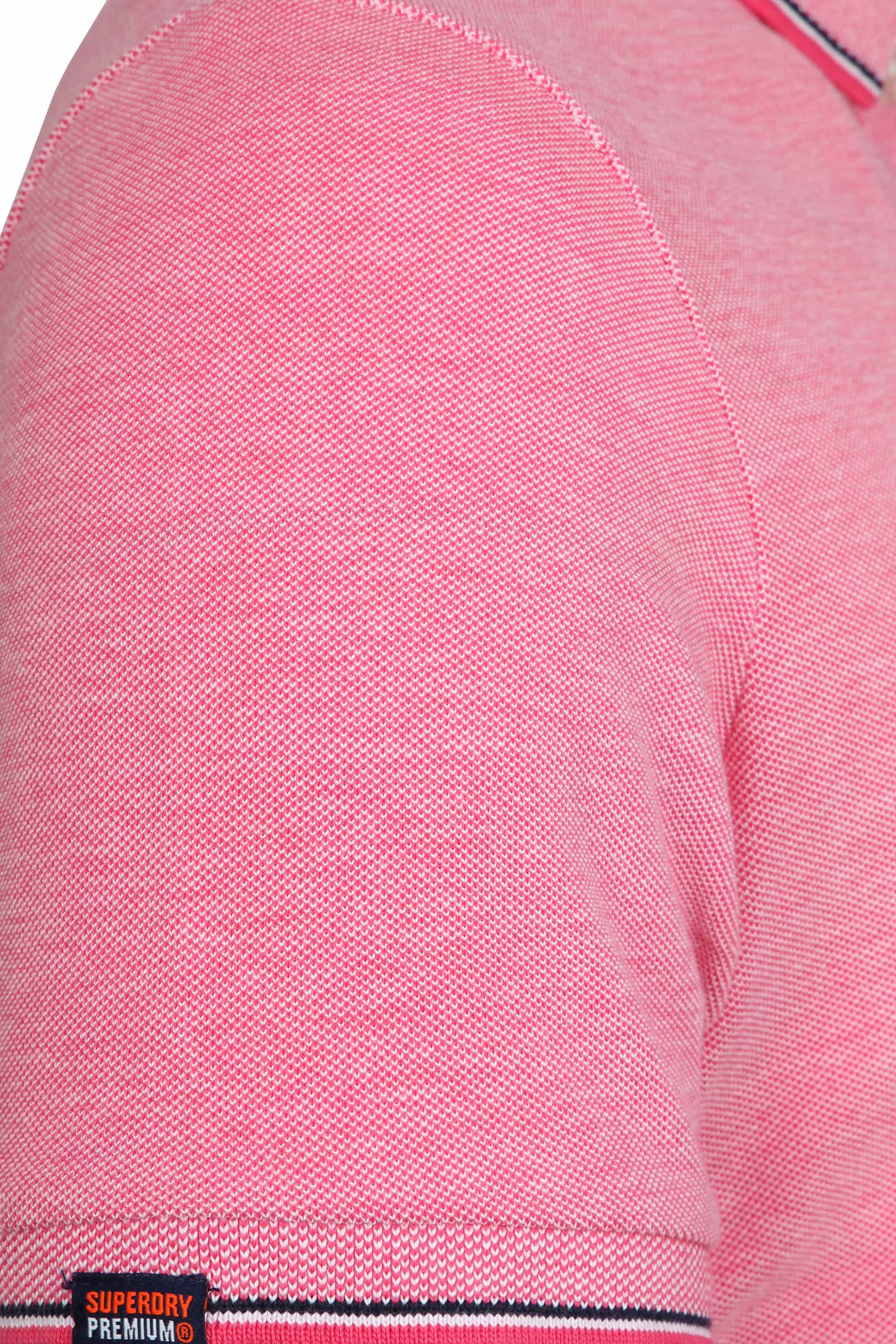 Superdry Premium Polo Pink foto 3
