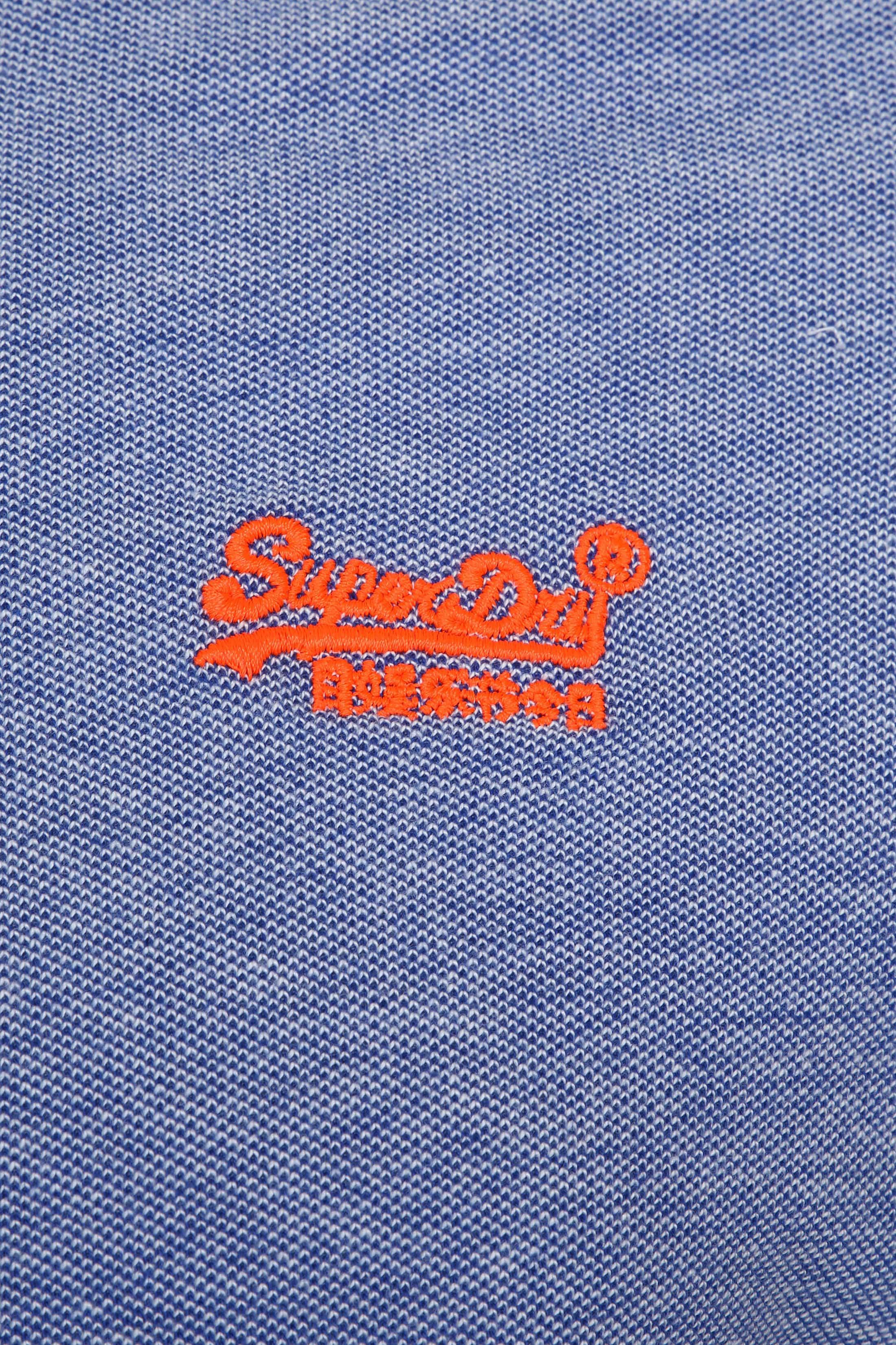 Superdry Premium Poloshirt Blau foto 2