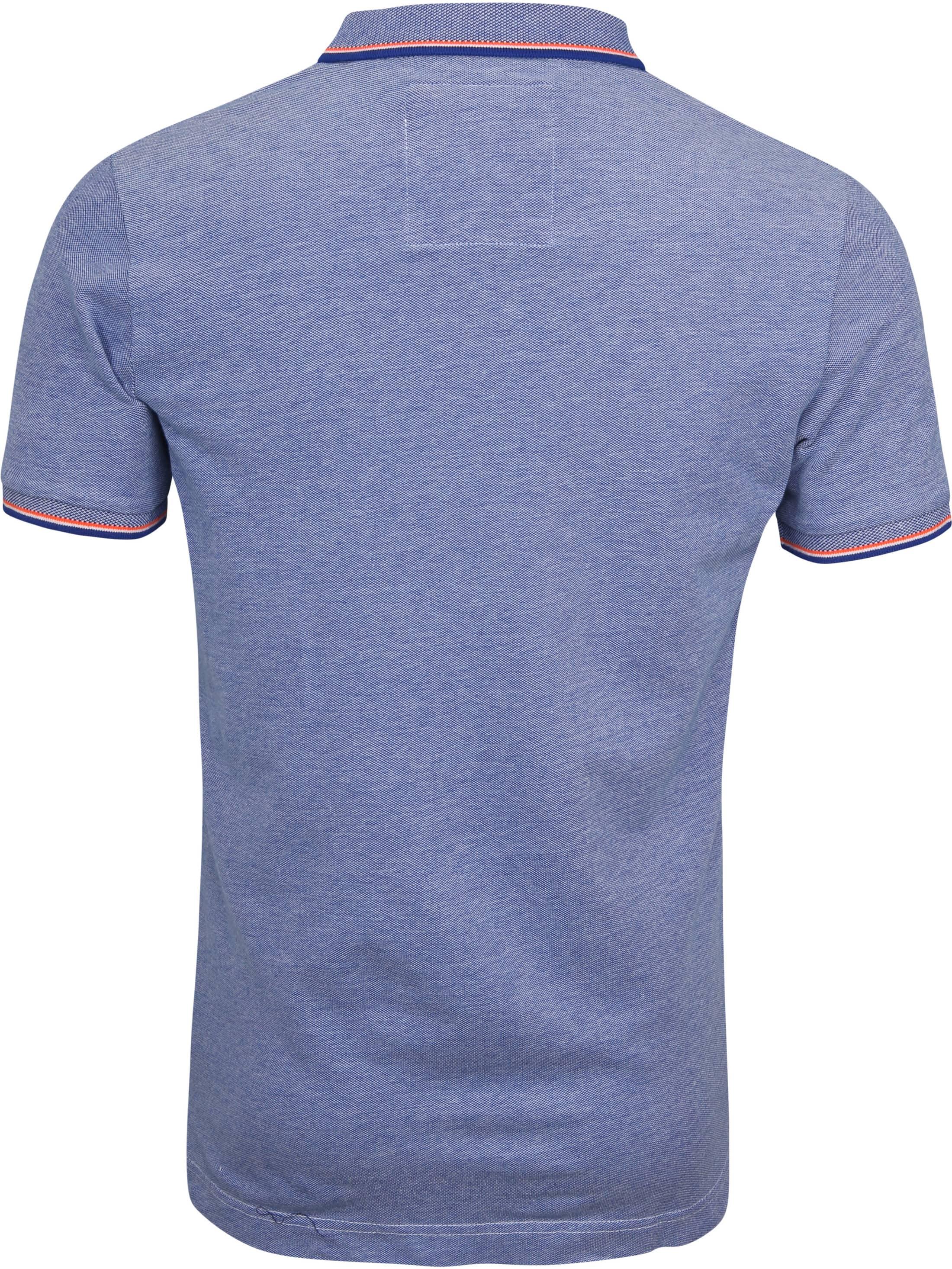 Superdry Premium Poloshirt Blau foto 4