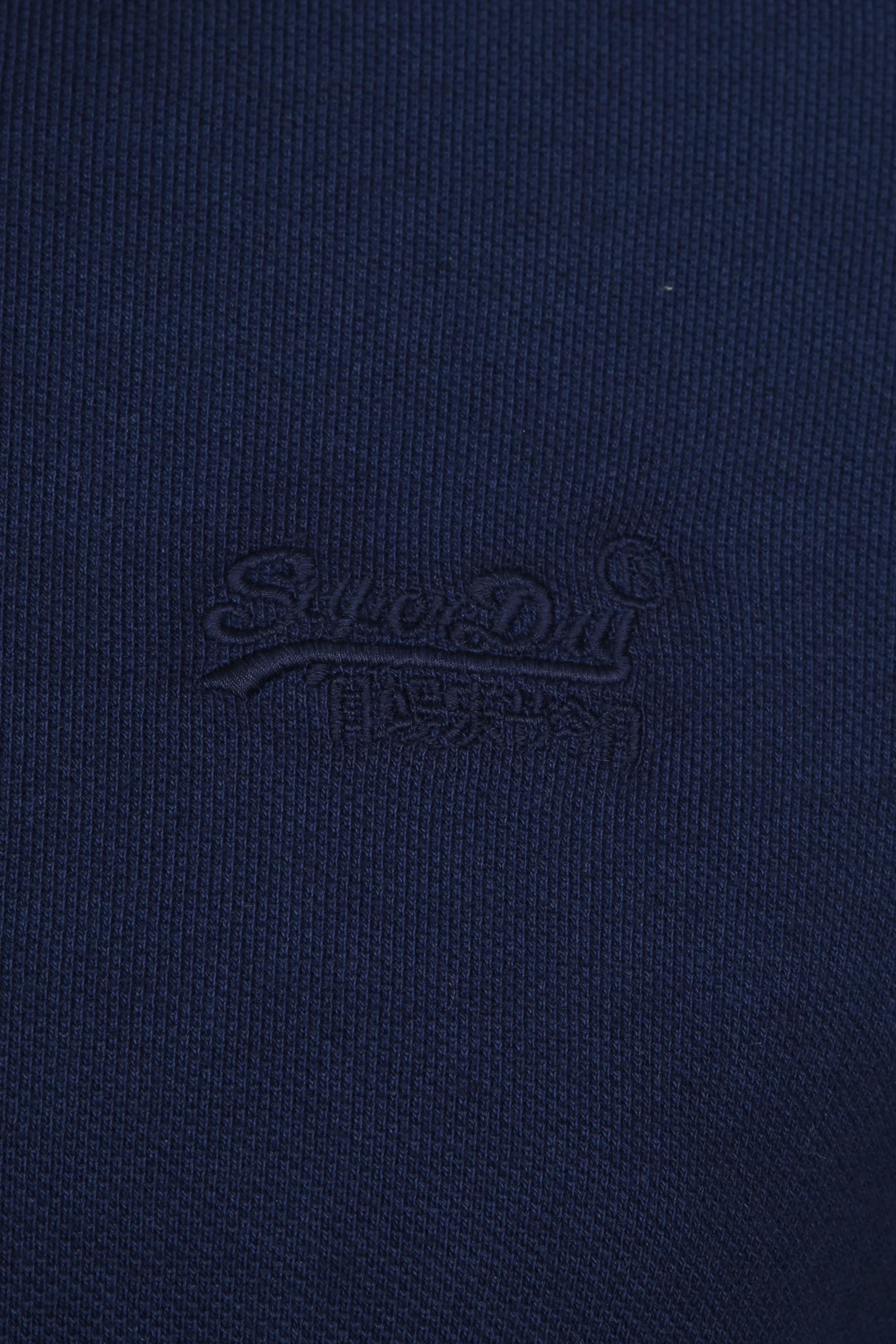 Superdry Premium Poloshirt Dunkelblau foto 1