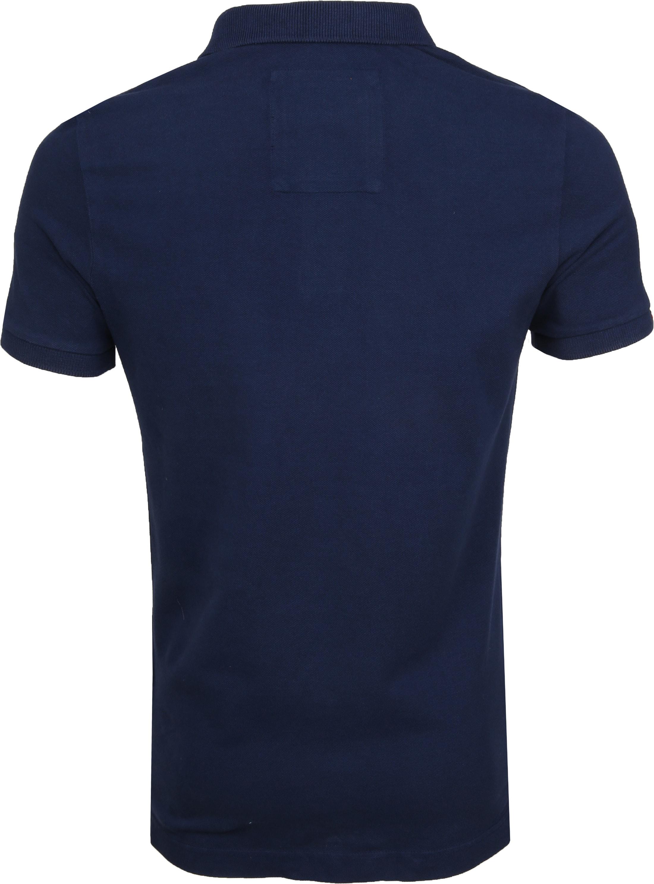 Superdry Premium Poloshirt Dunkelblau foto 4
