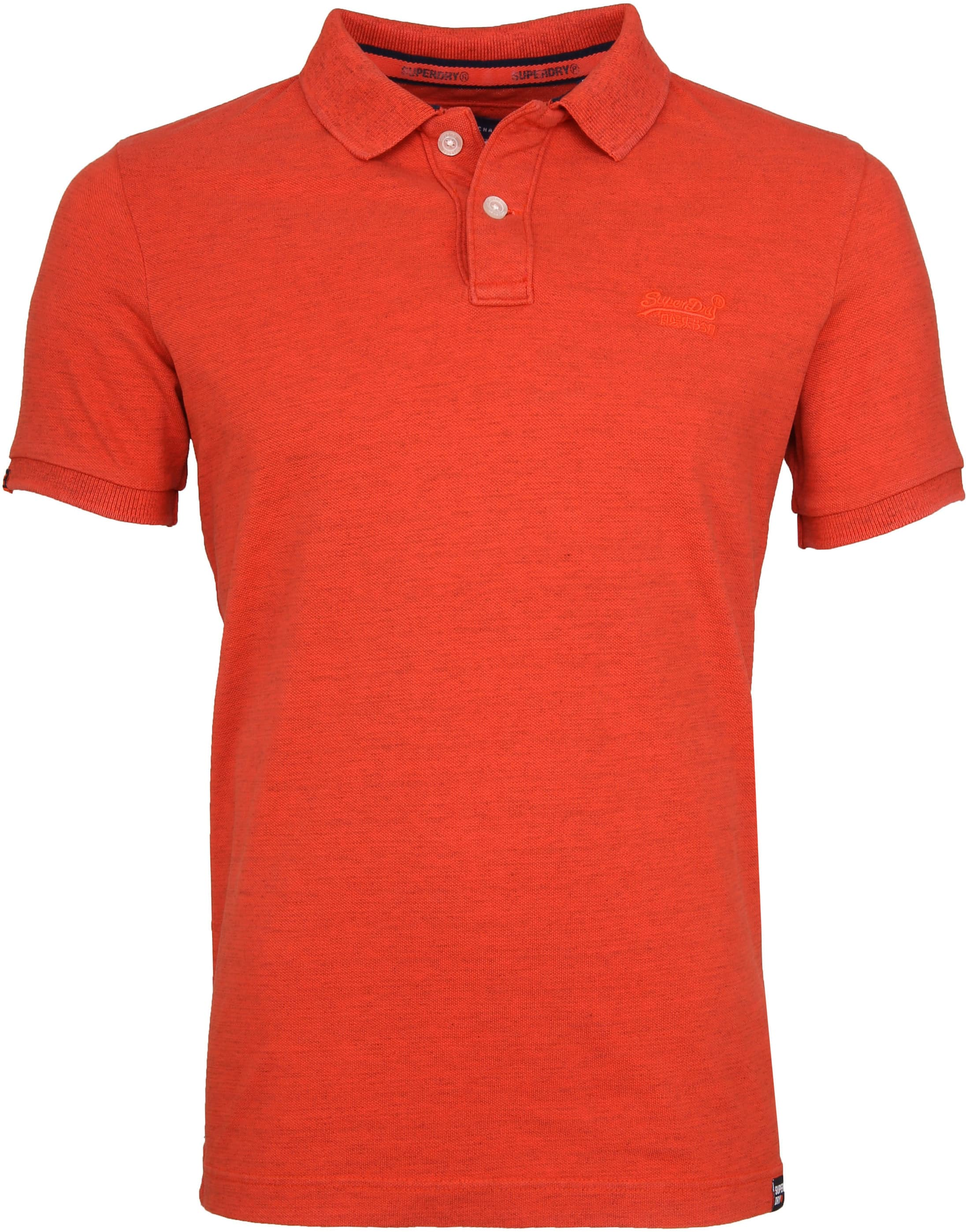 Superdry Premium Poloshirt Orange foto 0