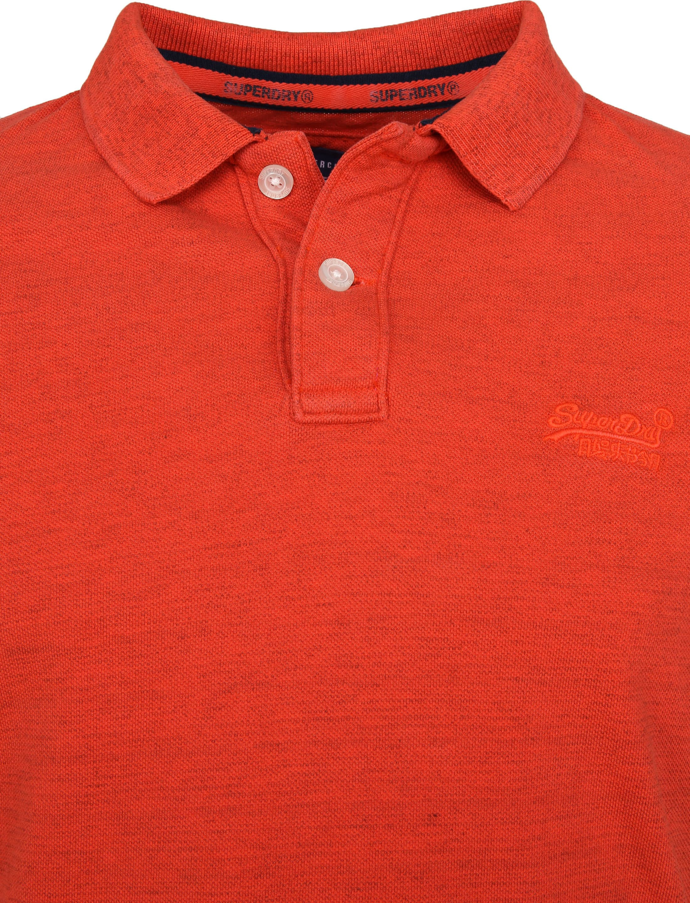 Superdry Premium Poloshirt Orange foto 2