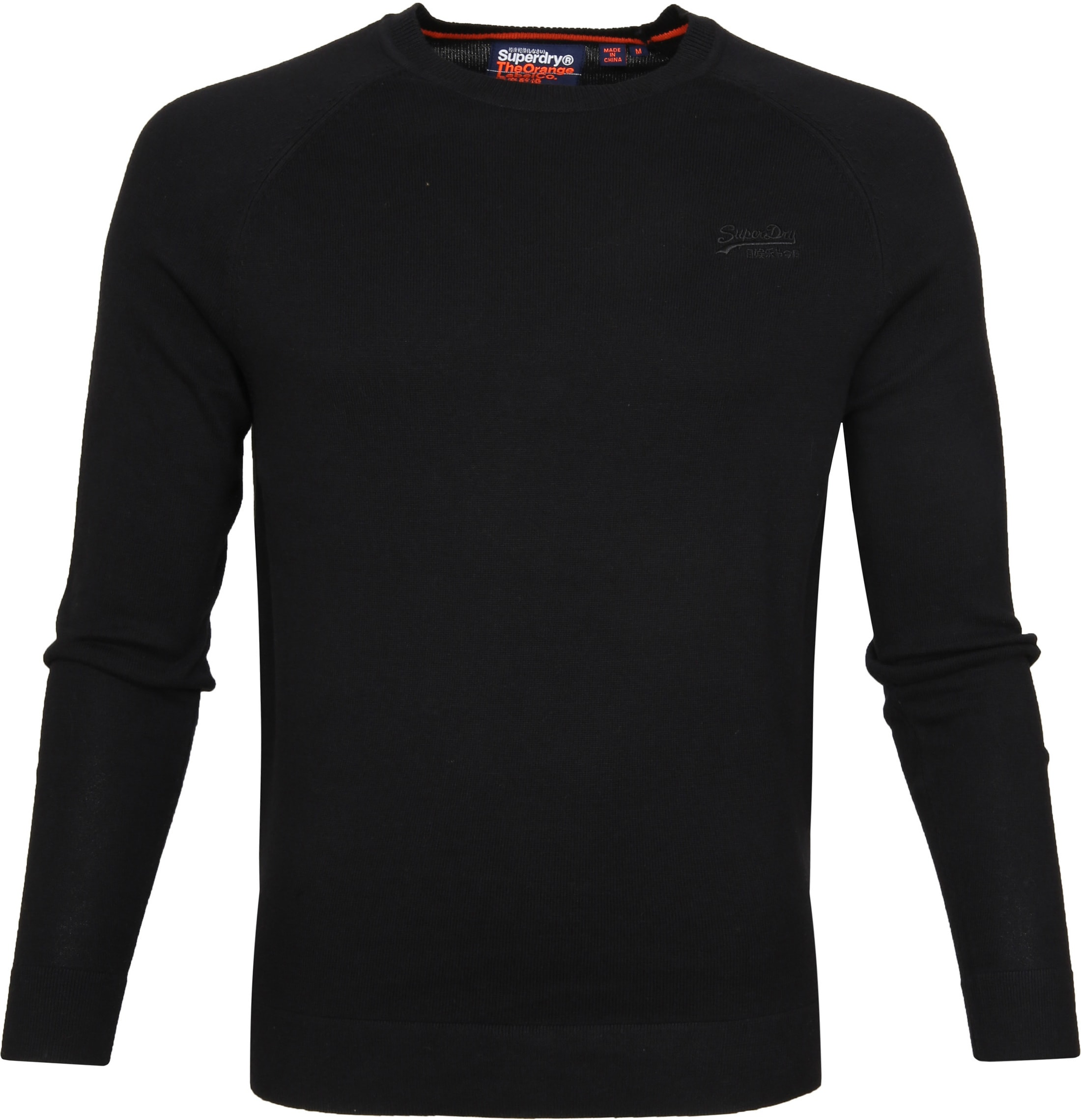 Superdry Pullover Cotton Crew Black foto 0