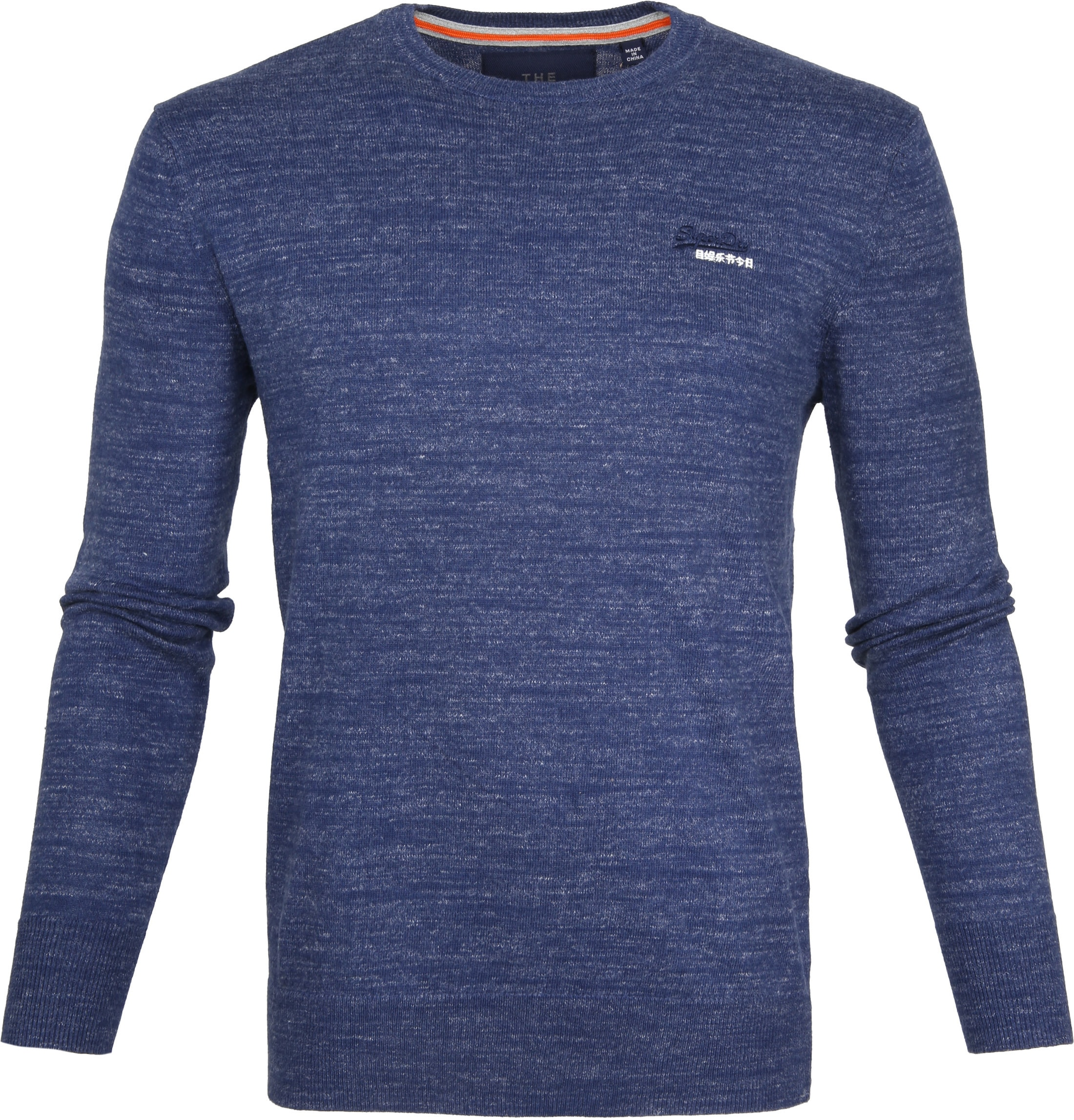 Superdry Pullover Melange Blauw foto 0