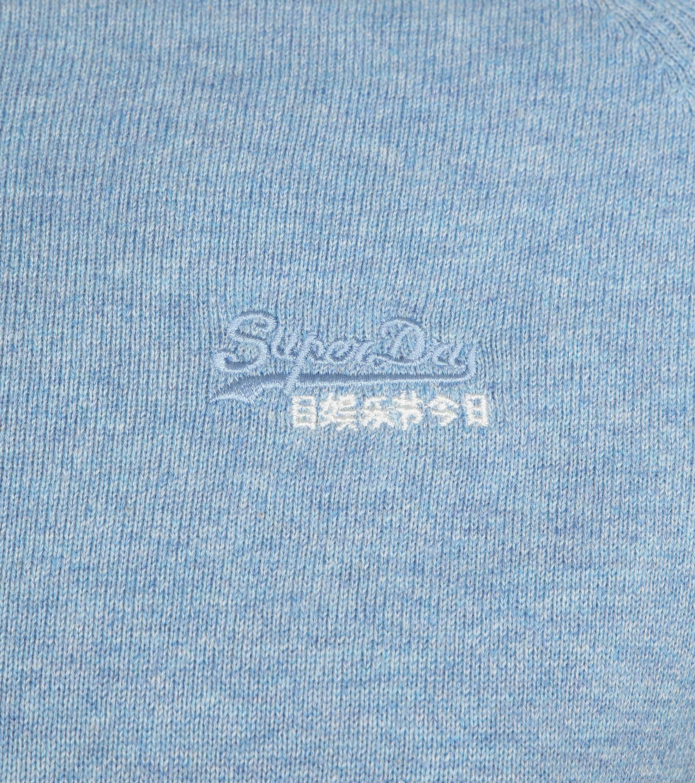 Superdry Pullover Melange Lichtblauw foto 1