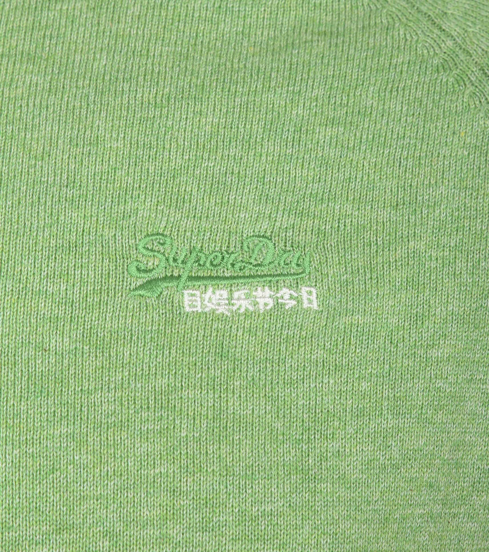 Superdry Pullover Melange Lichtgroen foto 1