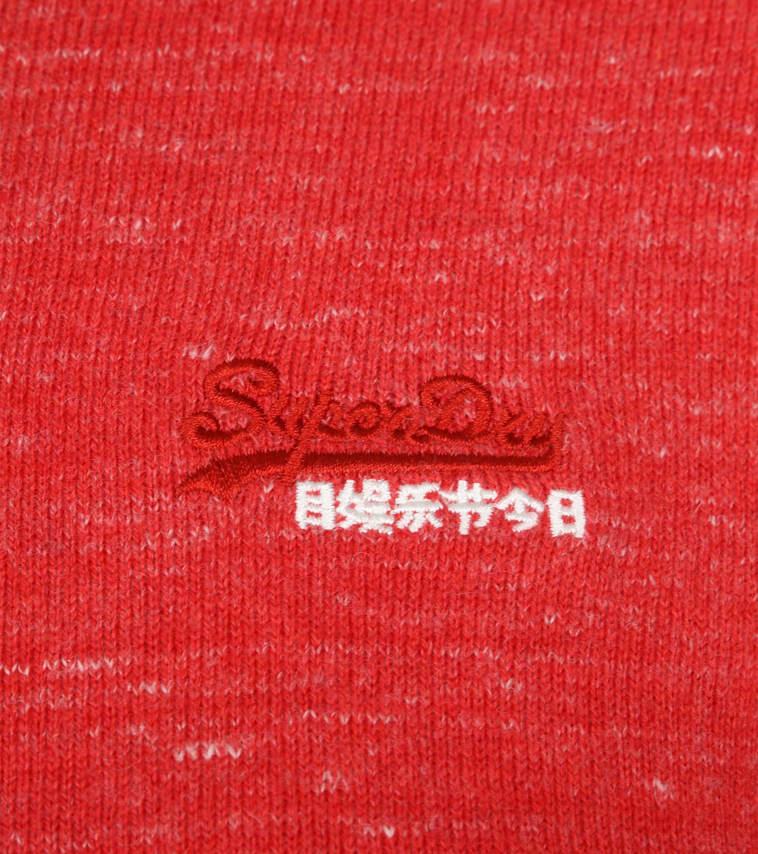 Superdry Pullover Melange Rood foto 1