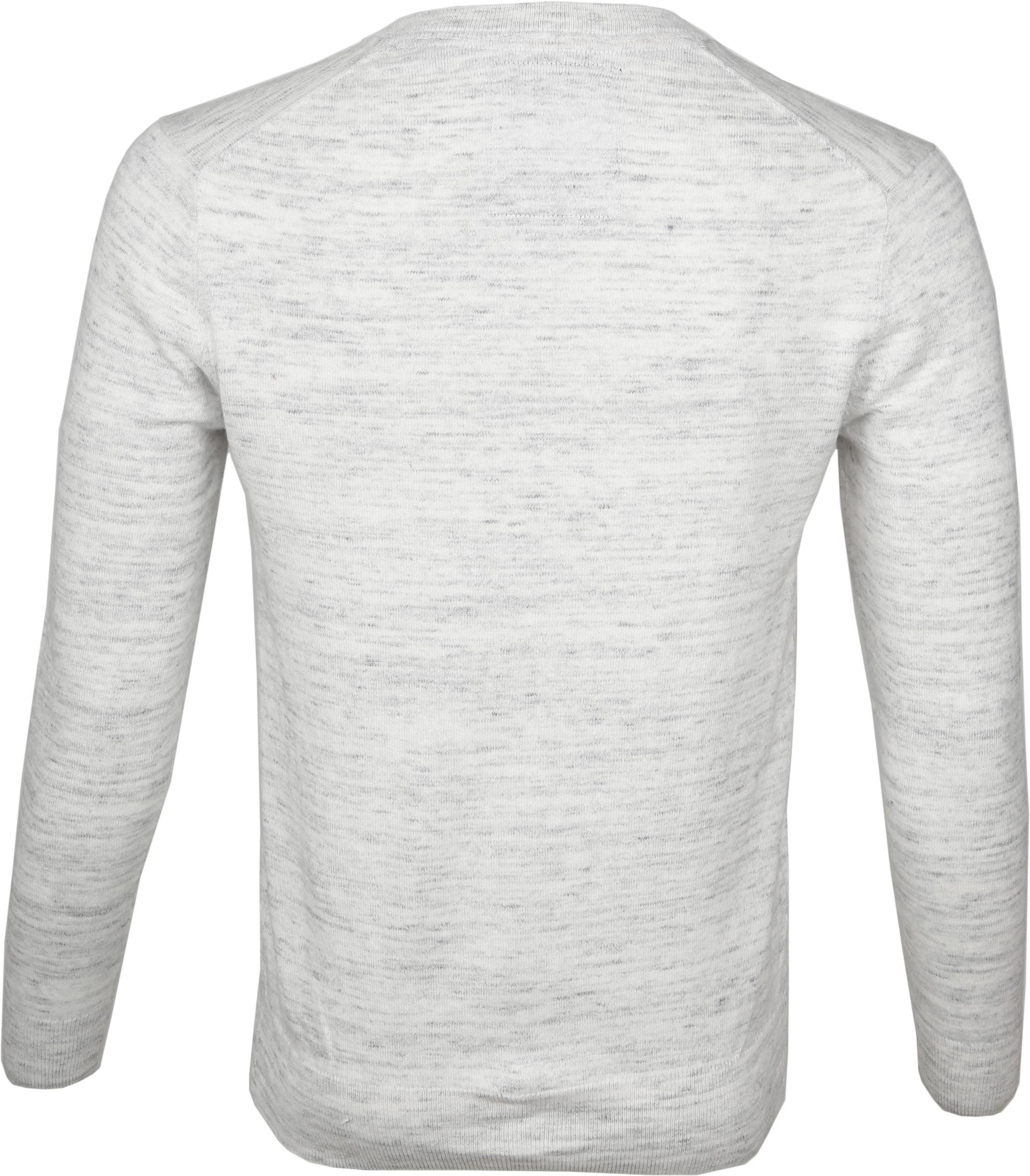 Superdry Pullover V-hals Melange Grijs foto 2