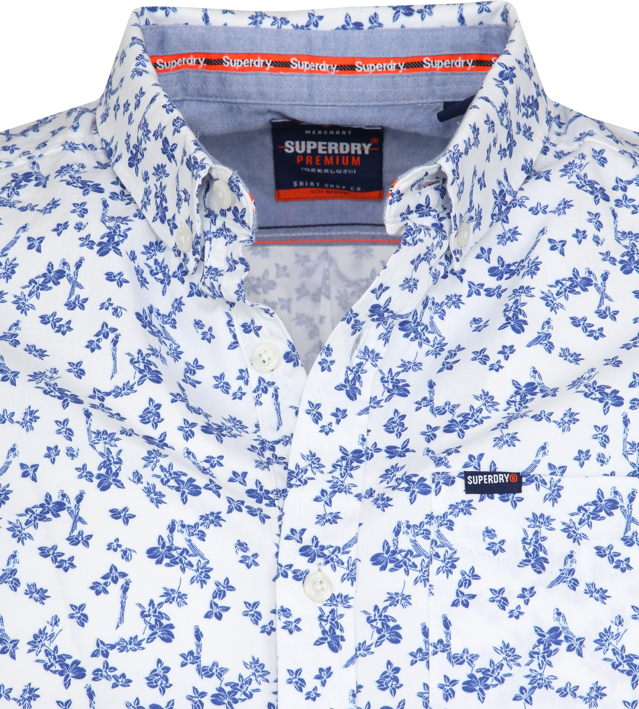 Superdry Shoreditch Shirt Flower foto 1