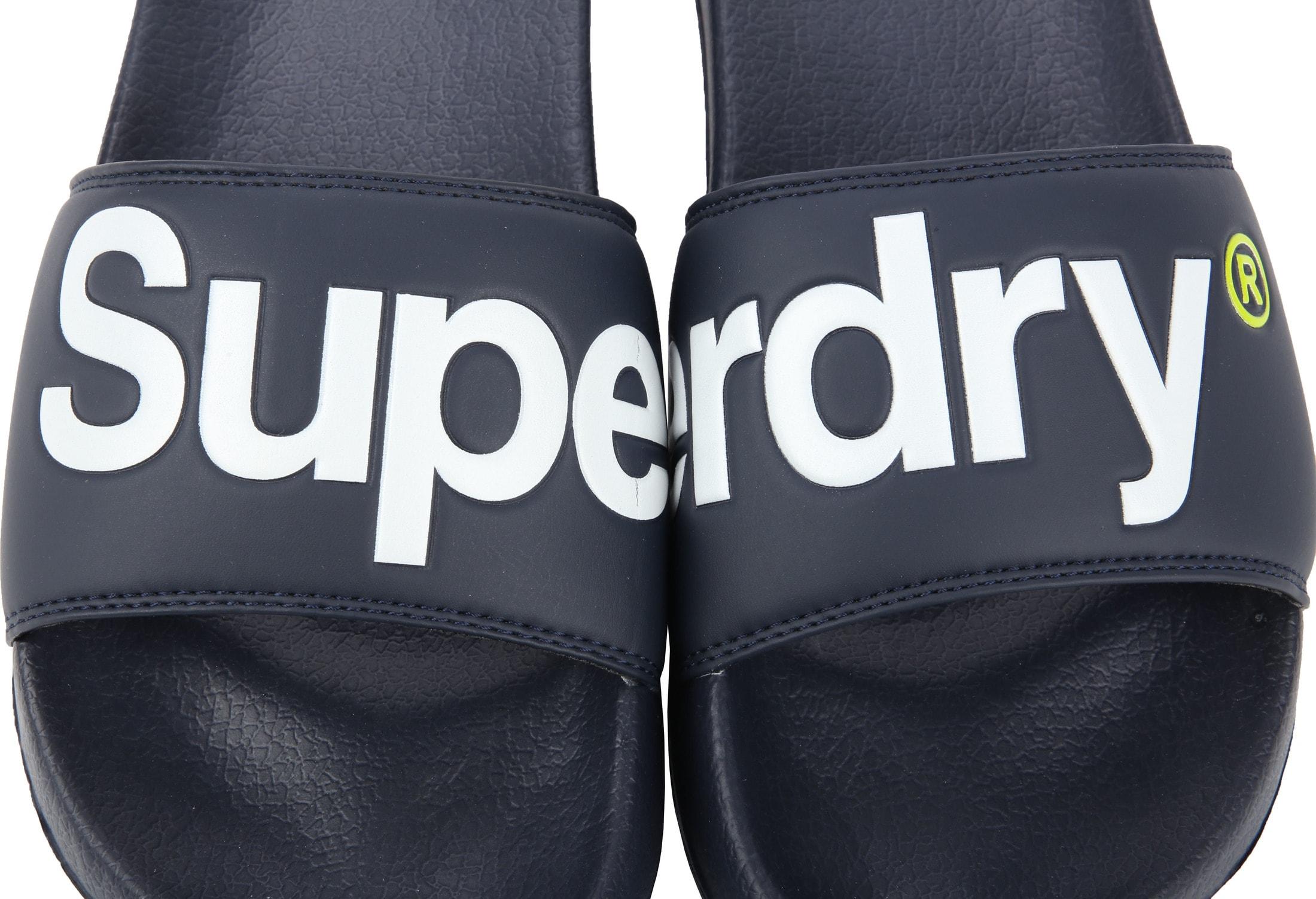 Superdry Slippers Blauw foto 1