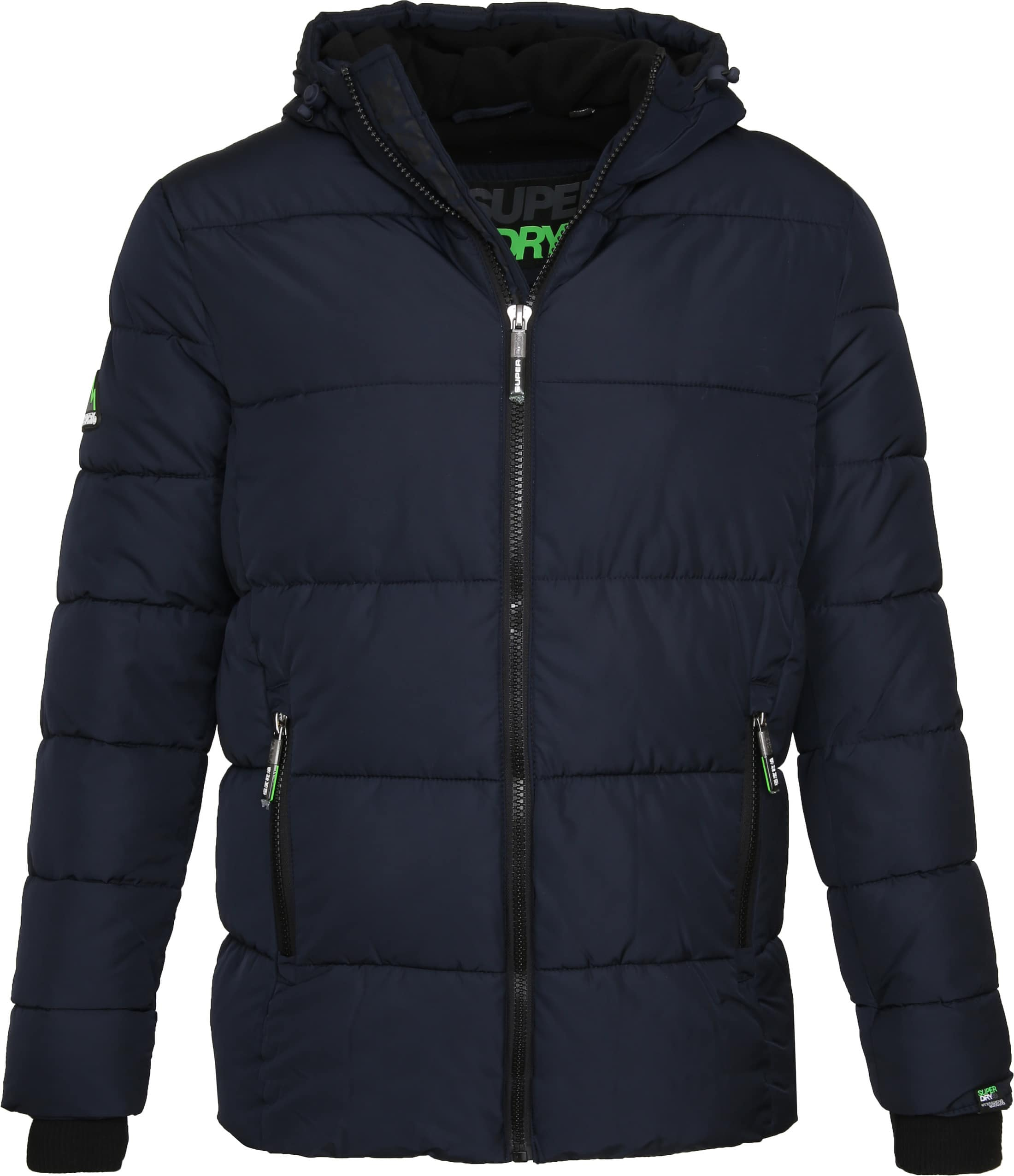 Superdry Sports Puffer Navy foto 0