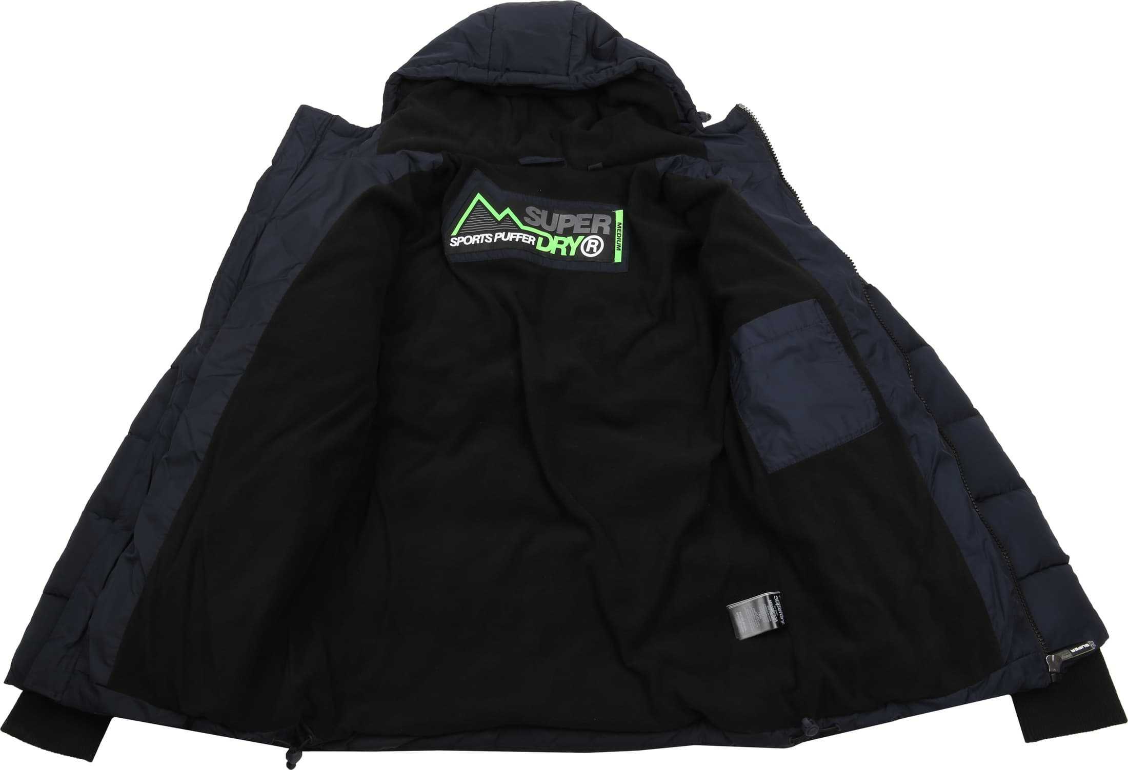 Superdry Sports Puffer Navy foto 5