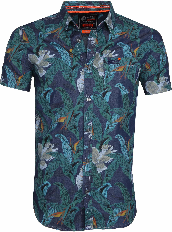 Superdry SS Shirt Miami Loom foto 0
