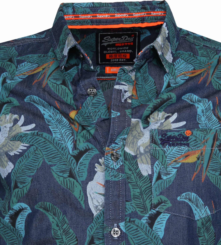 Superdry SS Shirt Miami Loom foto 1