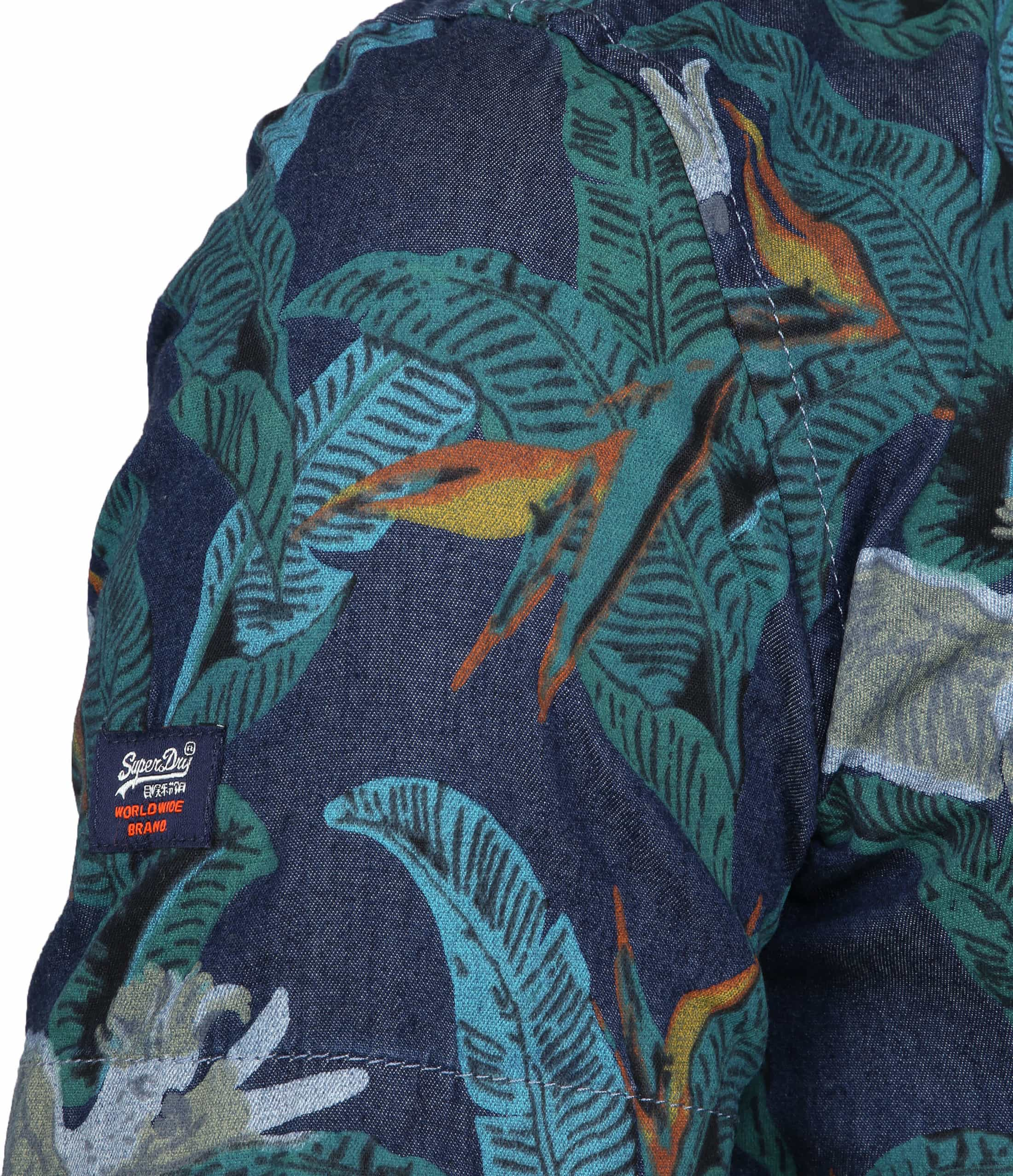 Superdry SS Shirt Miami Loom foto 3