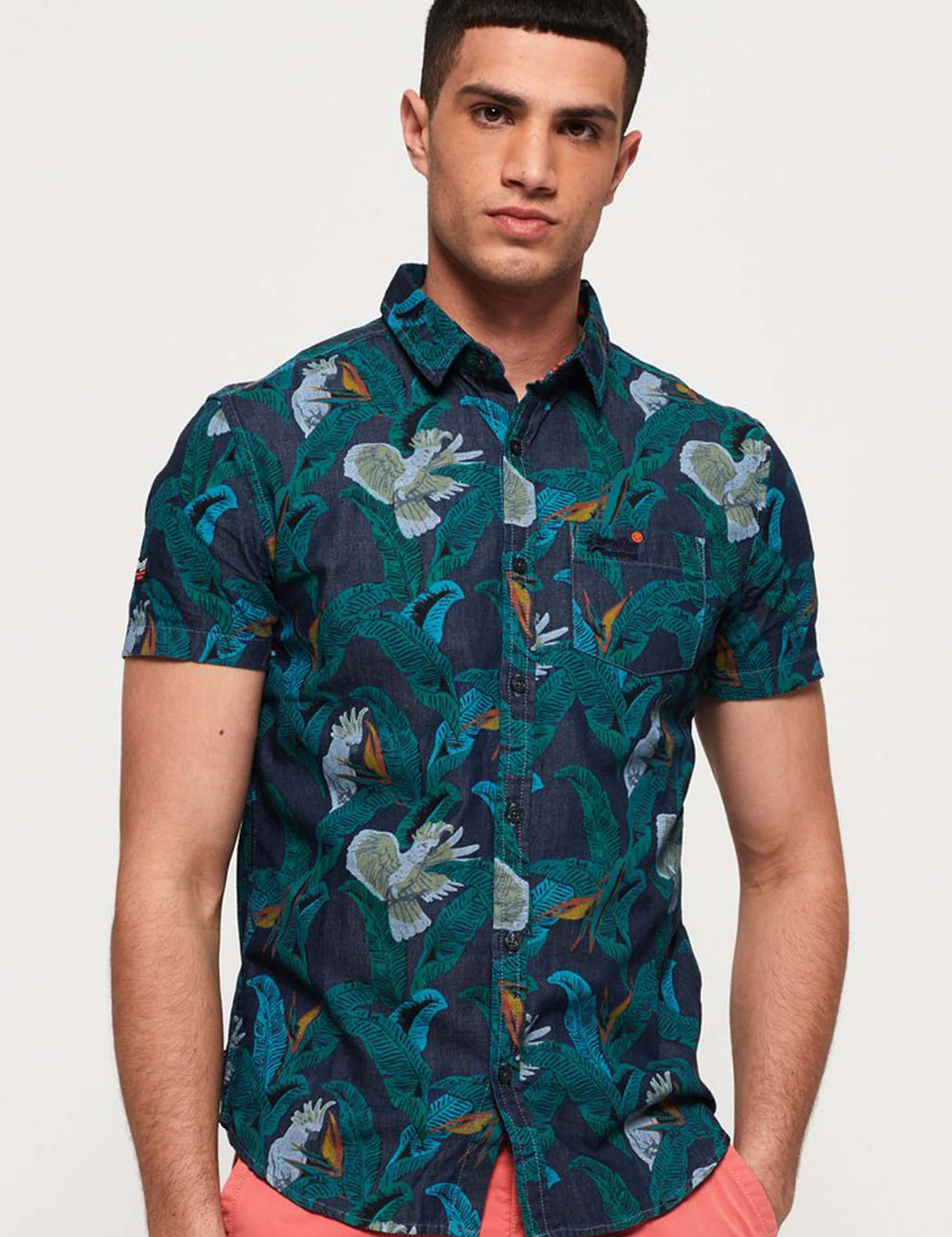 Superdry SS Shirt Miami Loom foto 5