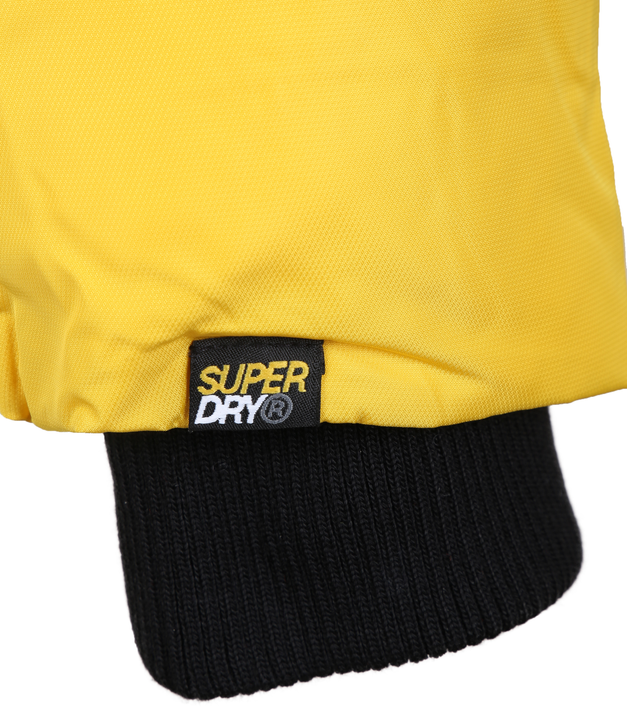 Superdry Sulphur Sports Puffer Geel foto 3