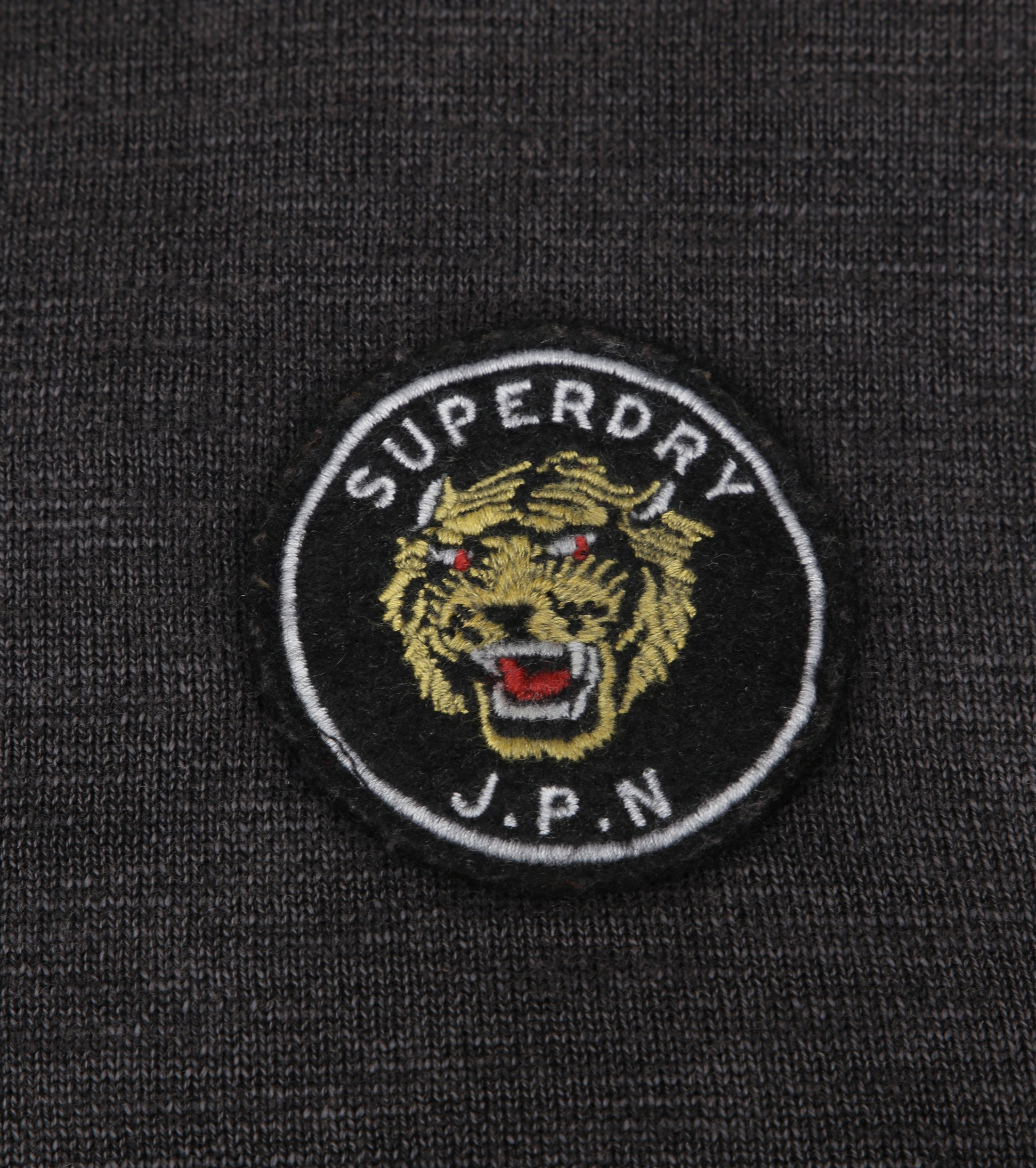Superdry Sweater Badged Antraciet foto 1
